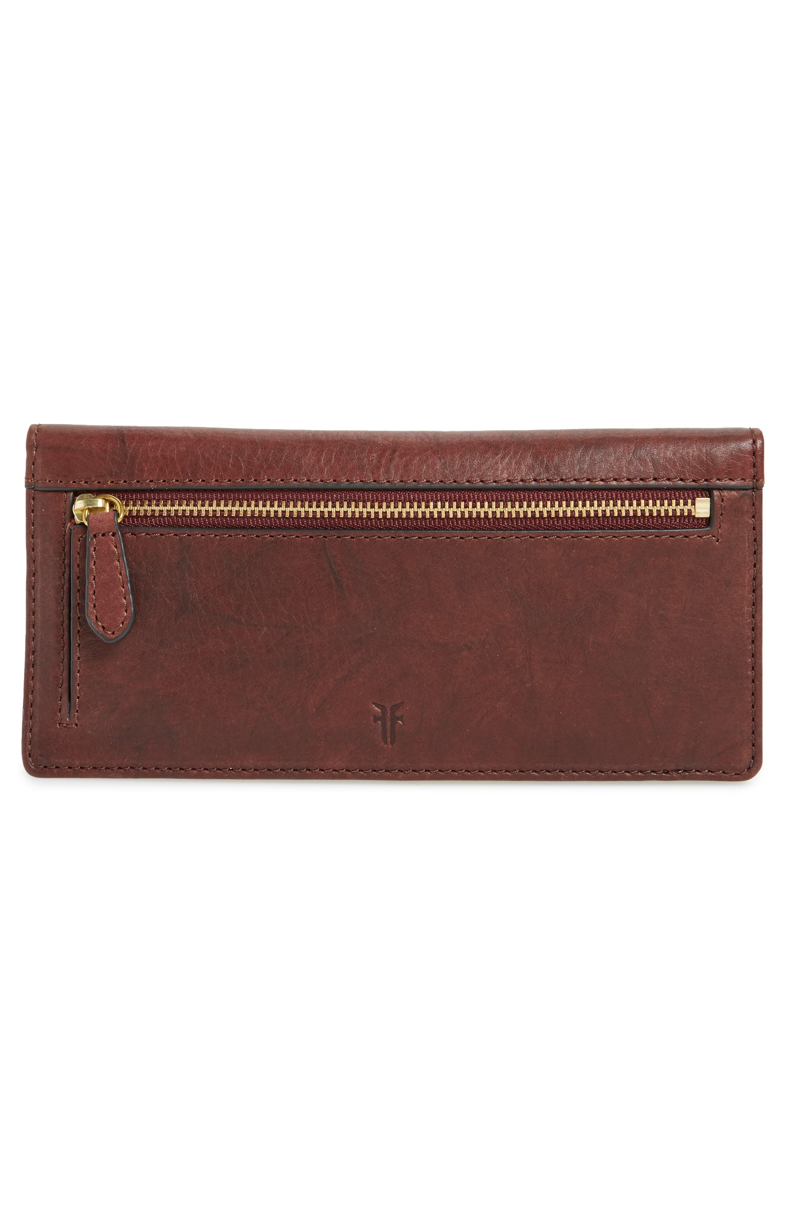 Alternate Image 3  - Frye Campus Rivet Slim Leather Wallet