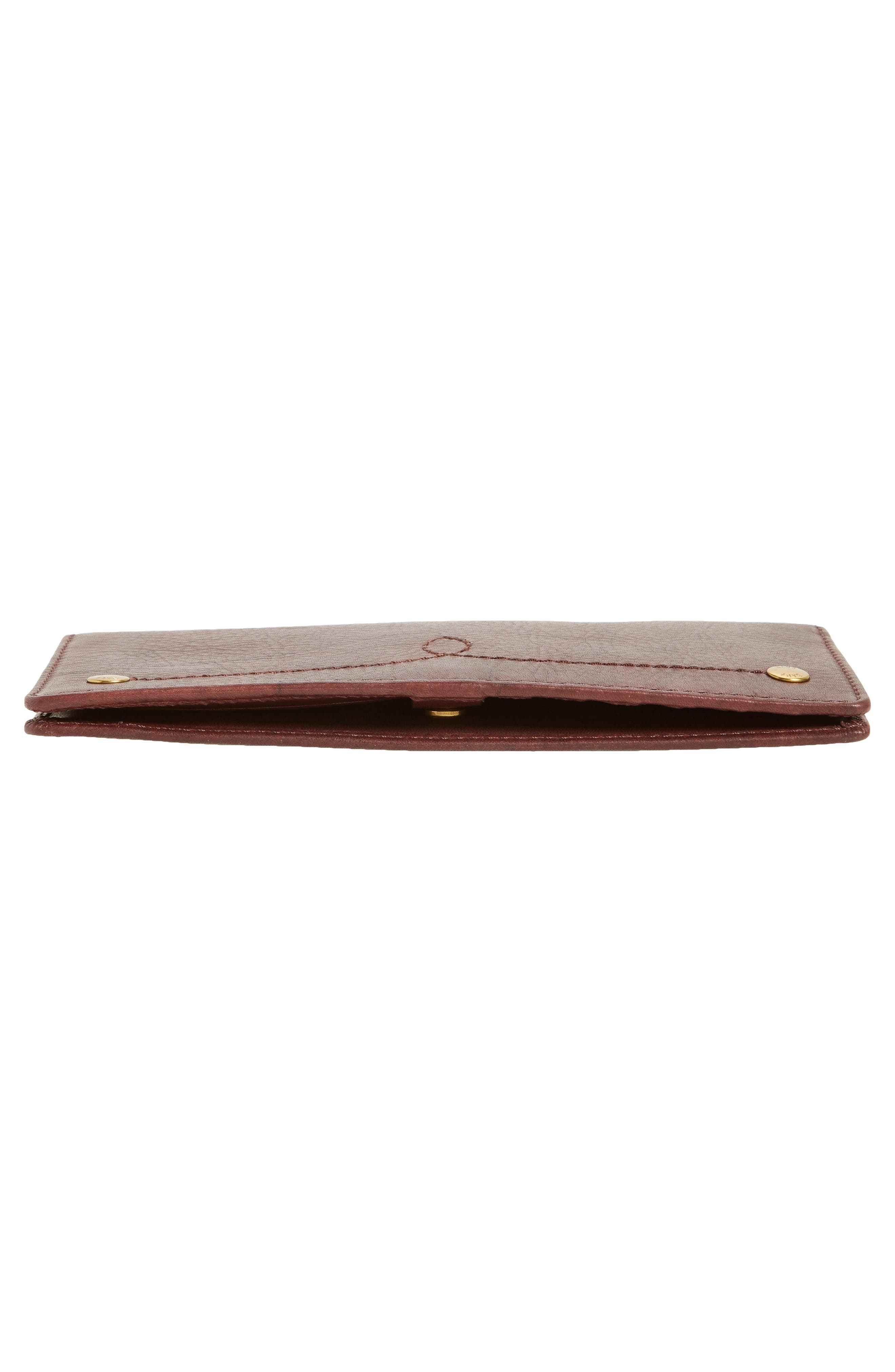 Alternate Image 5  - Frye Campus Rivet Slim Leather Wallet