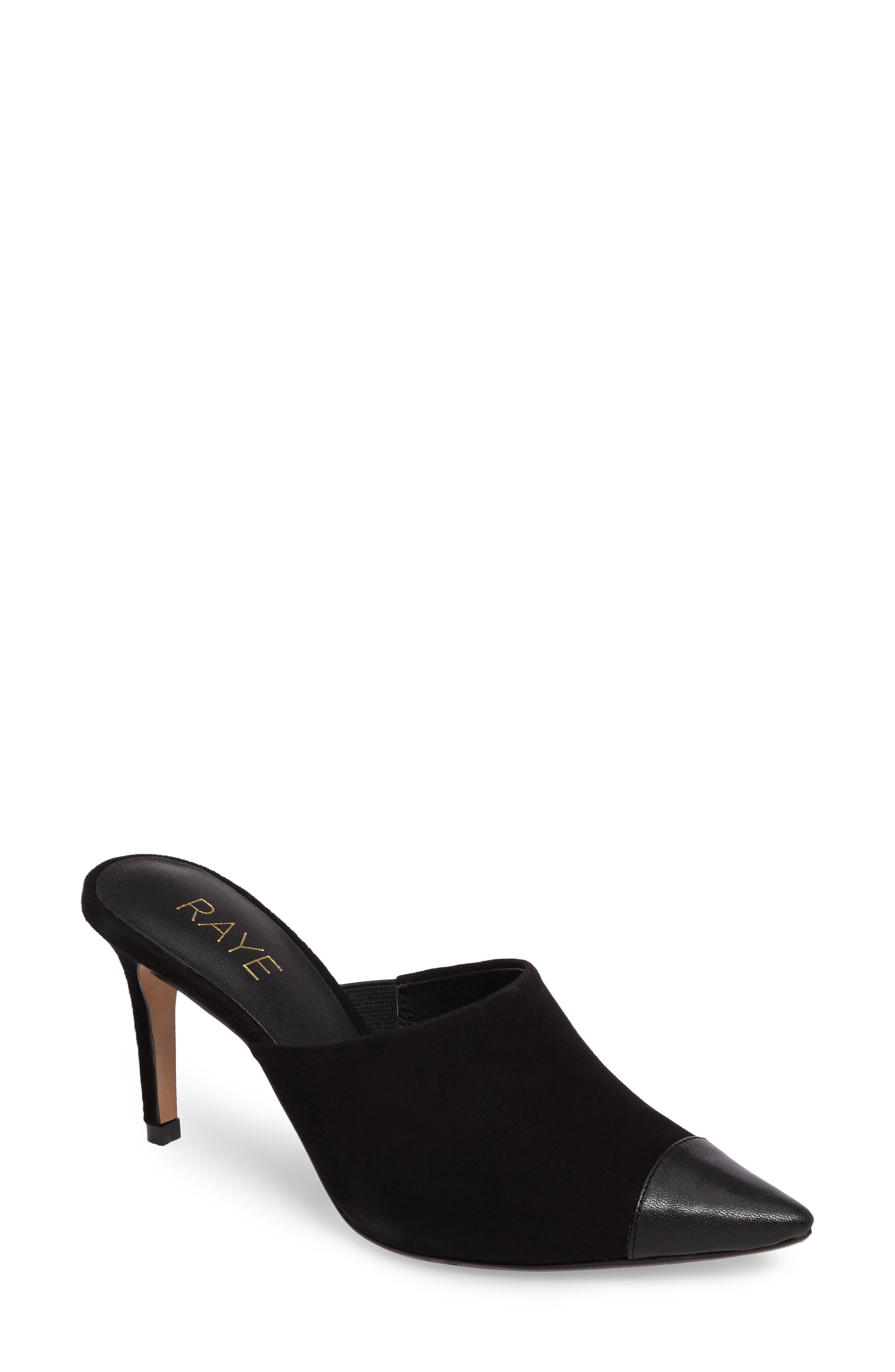 Alternate Image 1 Selected - RAYE Phoebe Cap Toe Mule (Women)