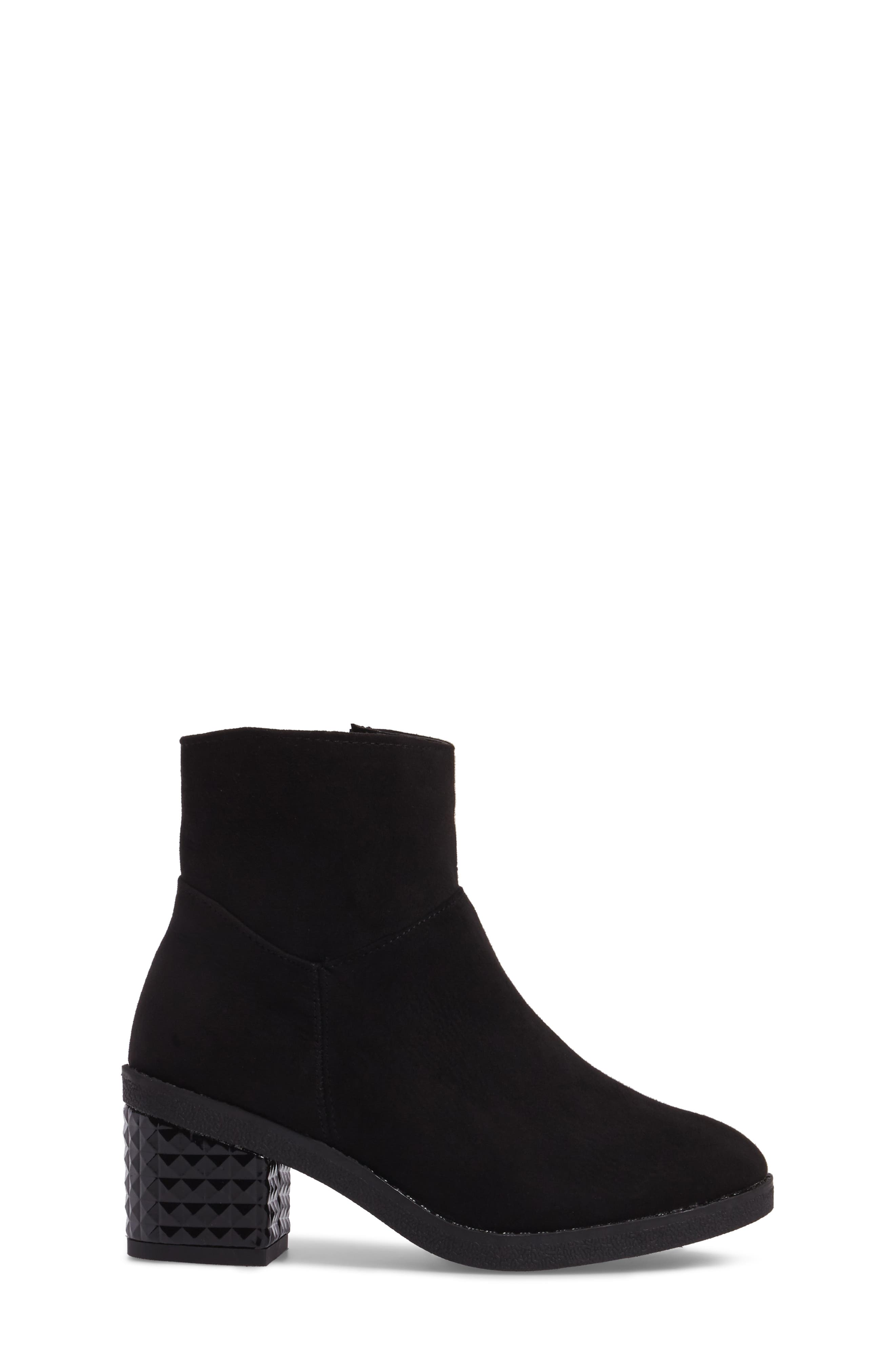 Fawn Dawn Bootie,                             Alternate thumbnail 3, color,                             Black