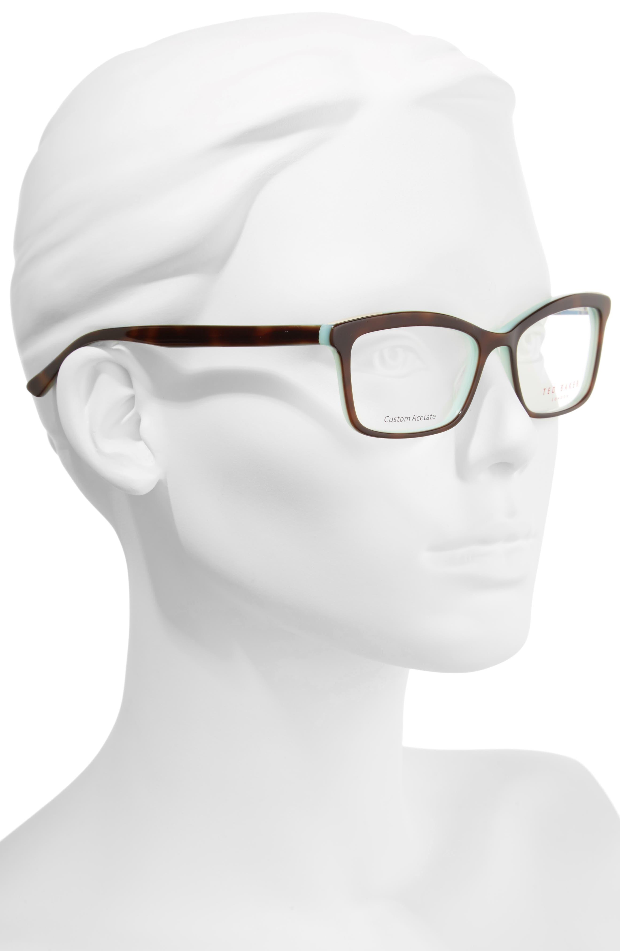 52mm Optical Glasses,                             Alternate thumbnail 2, color,                             Tortoise