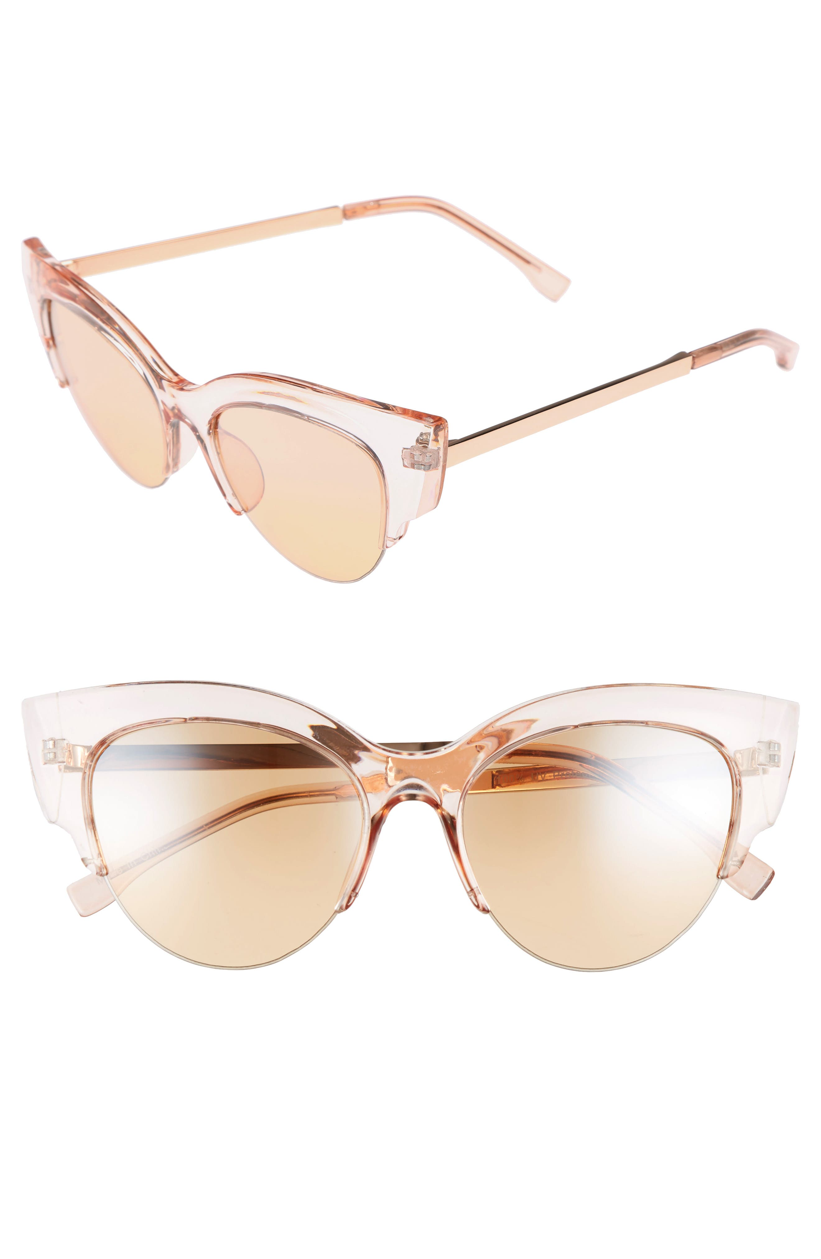 BP. 50mm Plastic Cat Eye Sunglasses