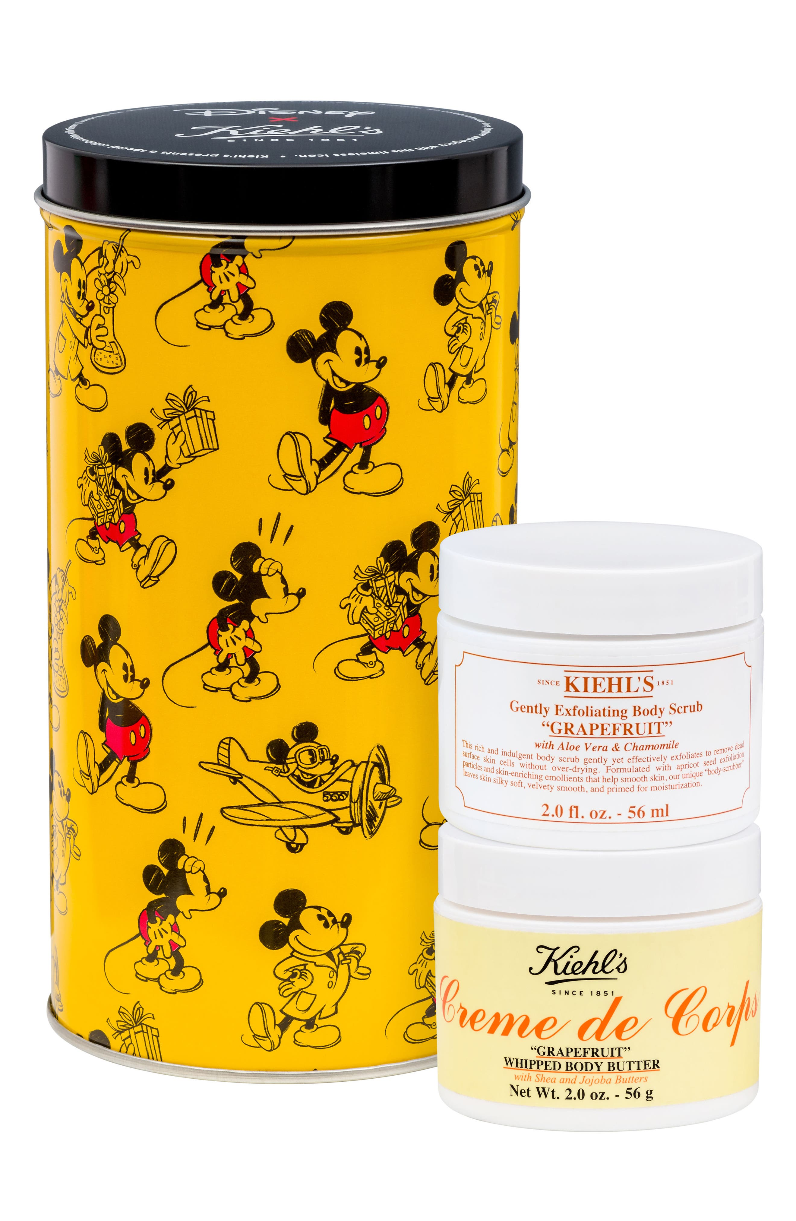 Disney x Kiehl's Since 1851 Grapefruit Body Duo,                             Main thumbnail 1, color,                             No Color