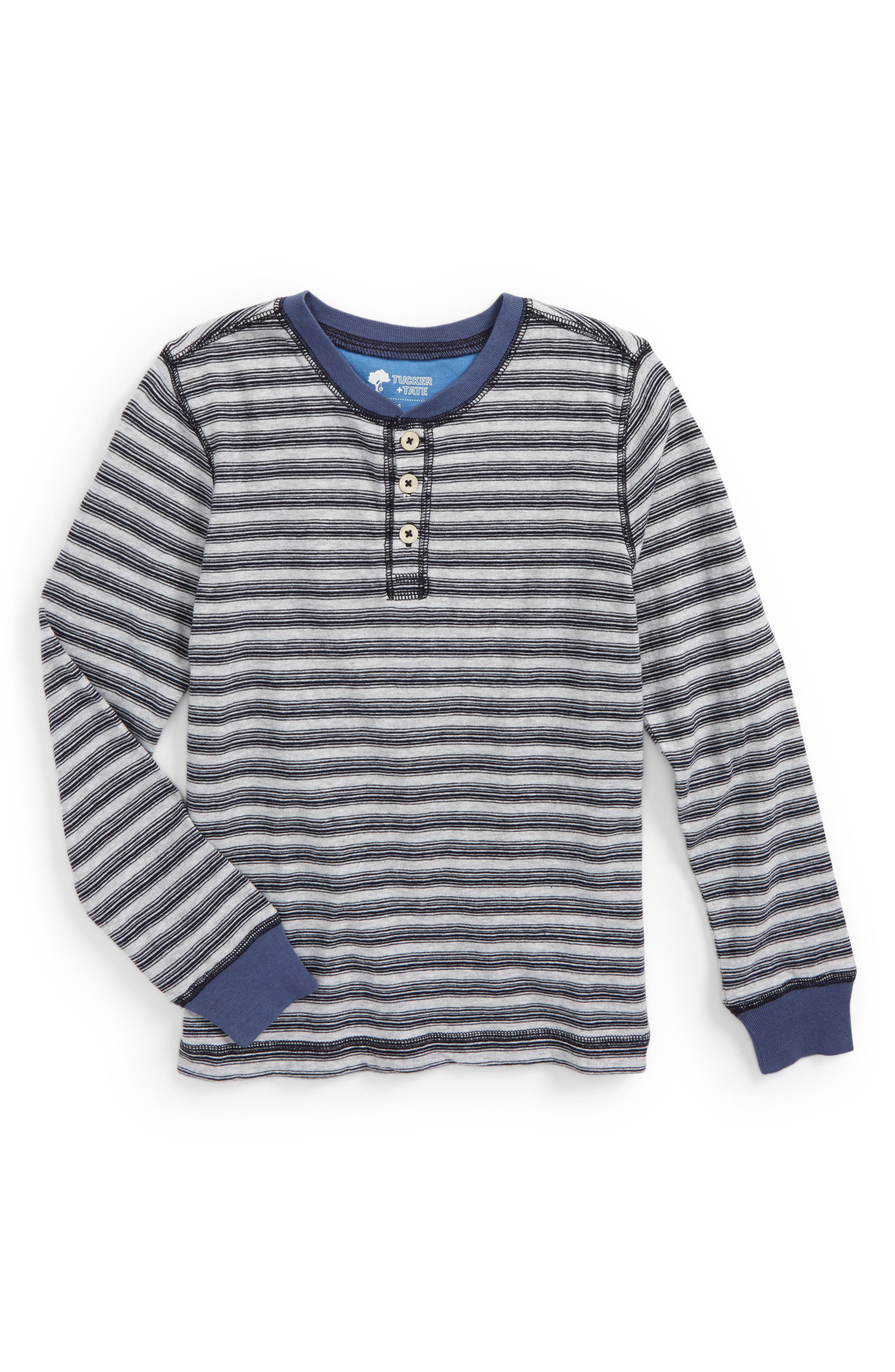 Main Image - Tucker + Tate Stripe Henley (Toddler Boys & Little Boys)