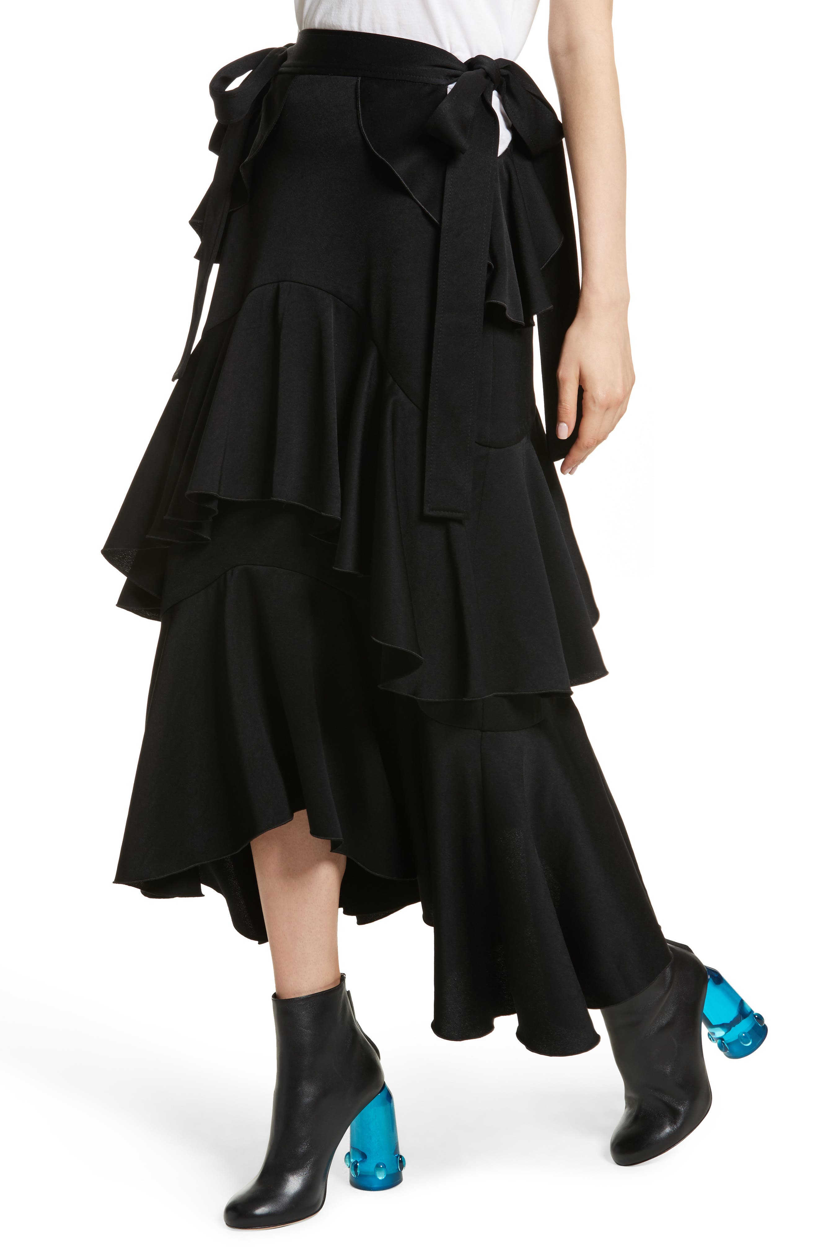 Alternate Image 3  - Ellery Saloon Ruffle Skirt