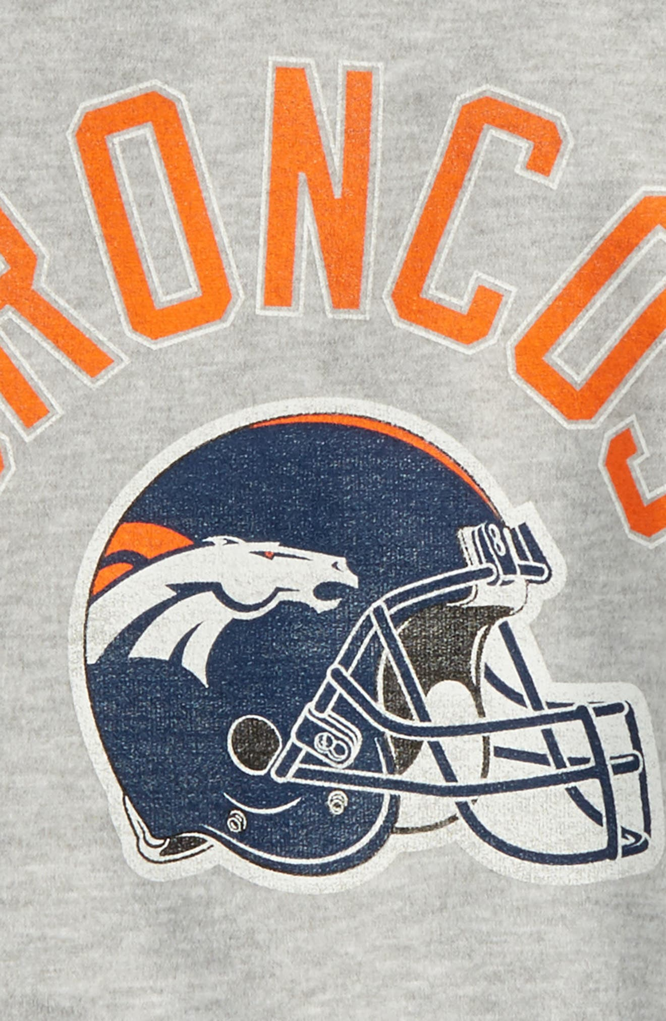 Alternate Image 2  - Outerstuff NFL Denver Broncos Pullover Hoodie (Big Boys)