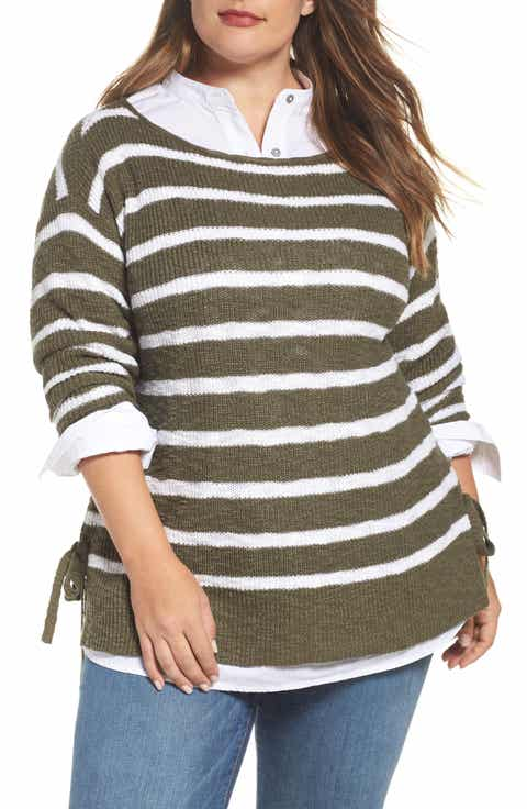 Women's Green Tunic Sweaters | Nordstrom