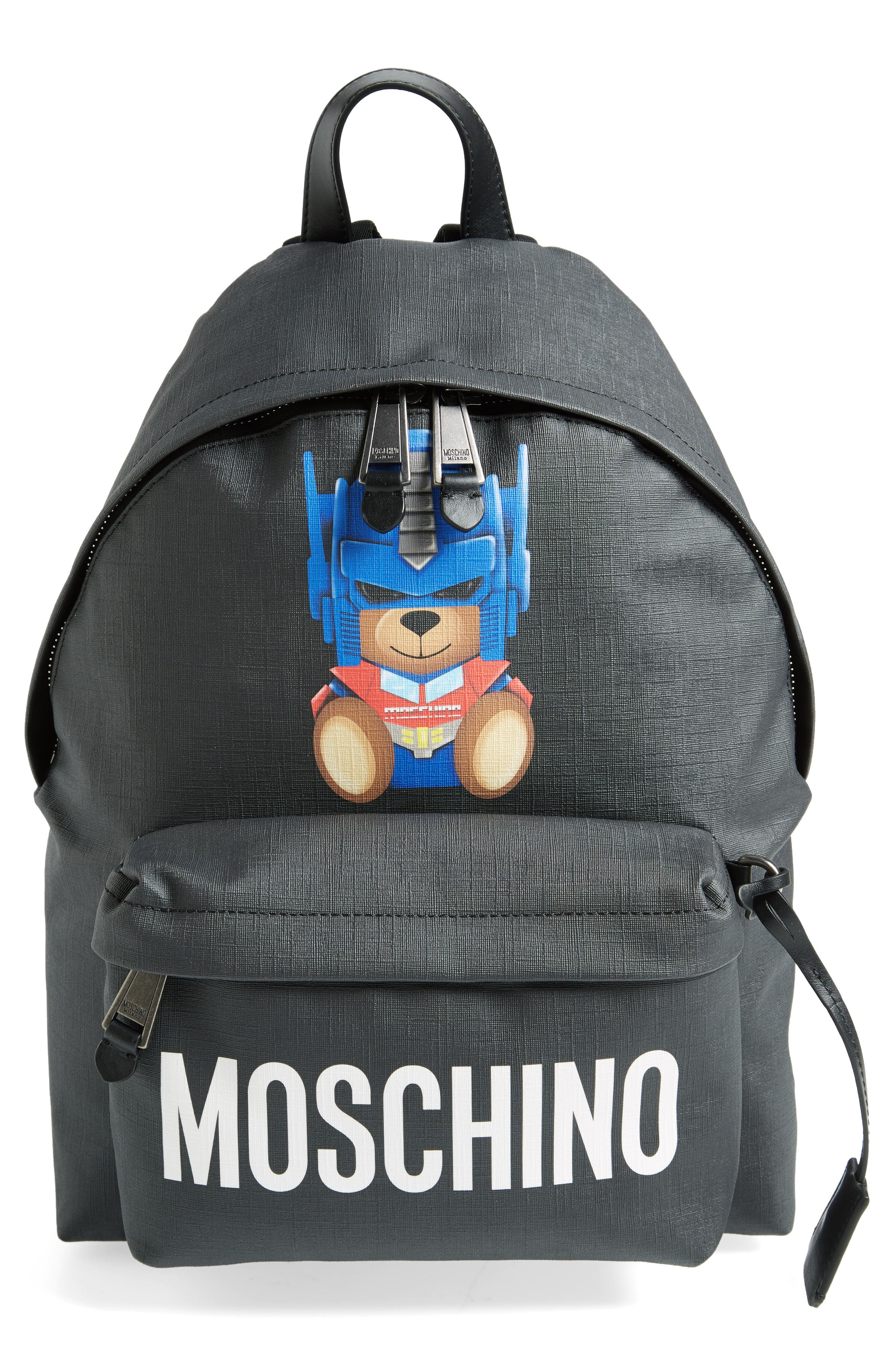 Moschino Transformer Bear Pouch