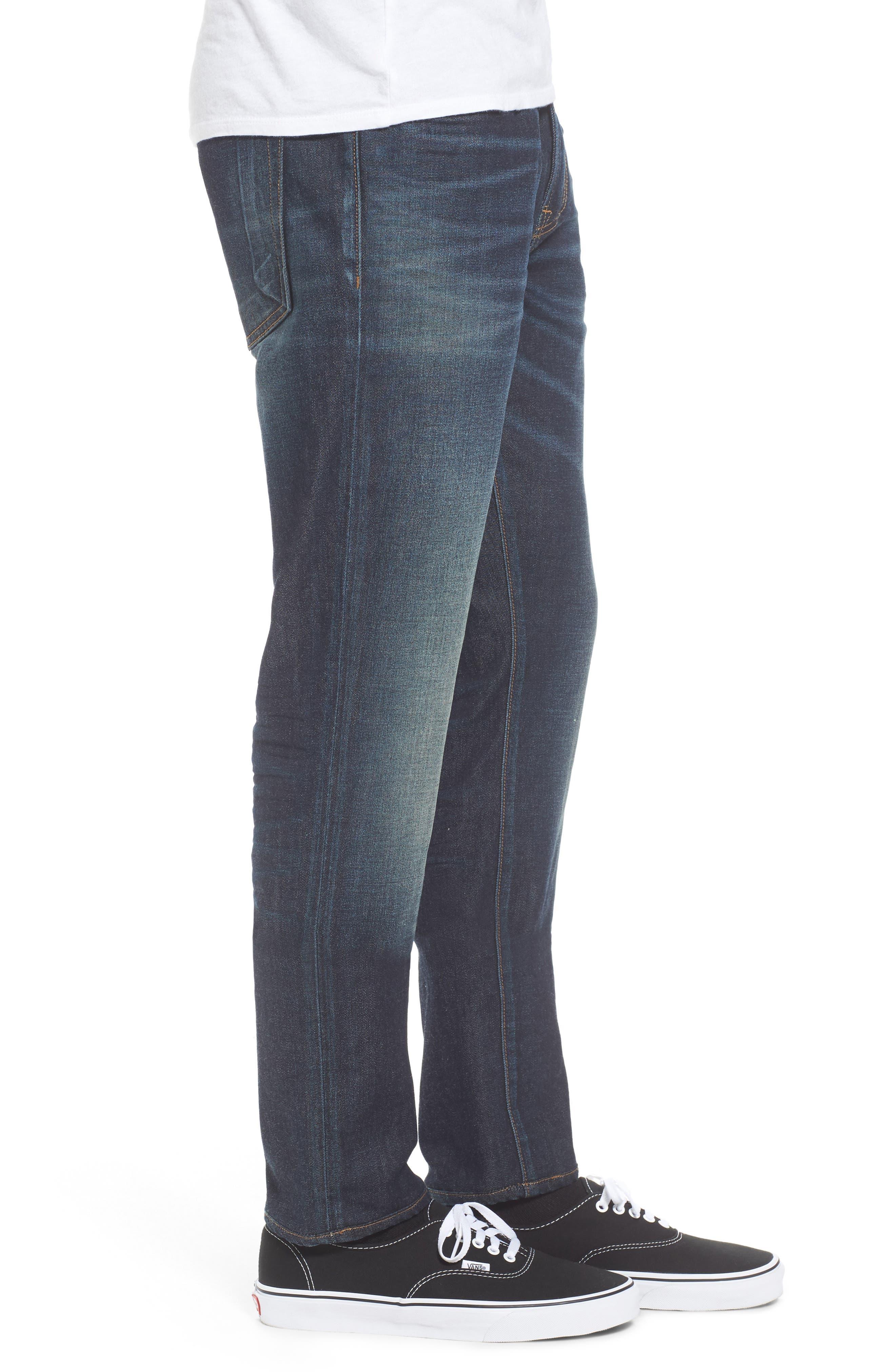 Windsor Slim Fit Jeans,                             Alternate thumbnail 3, color,                             Medium