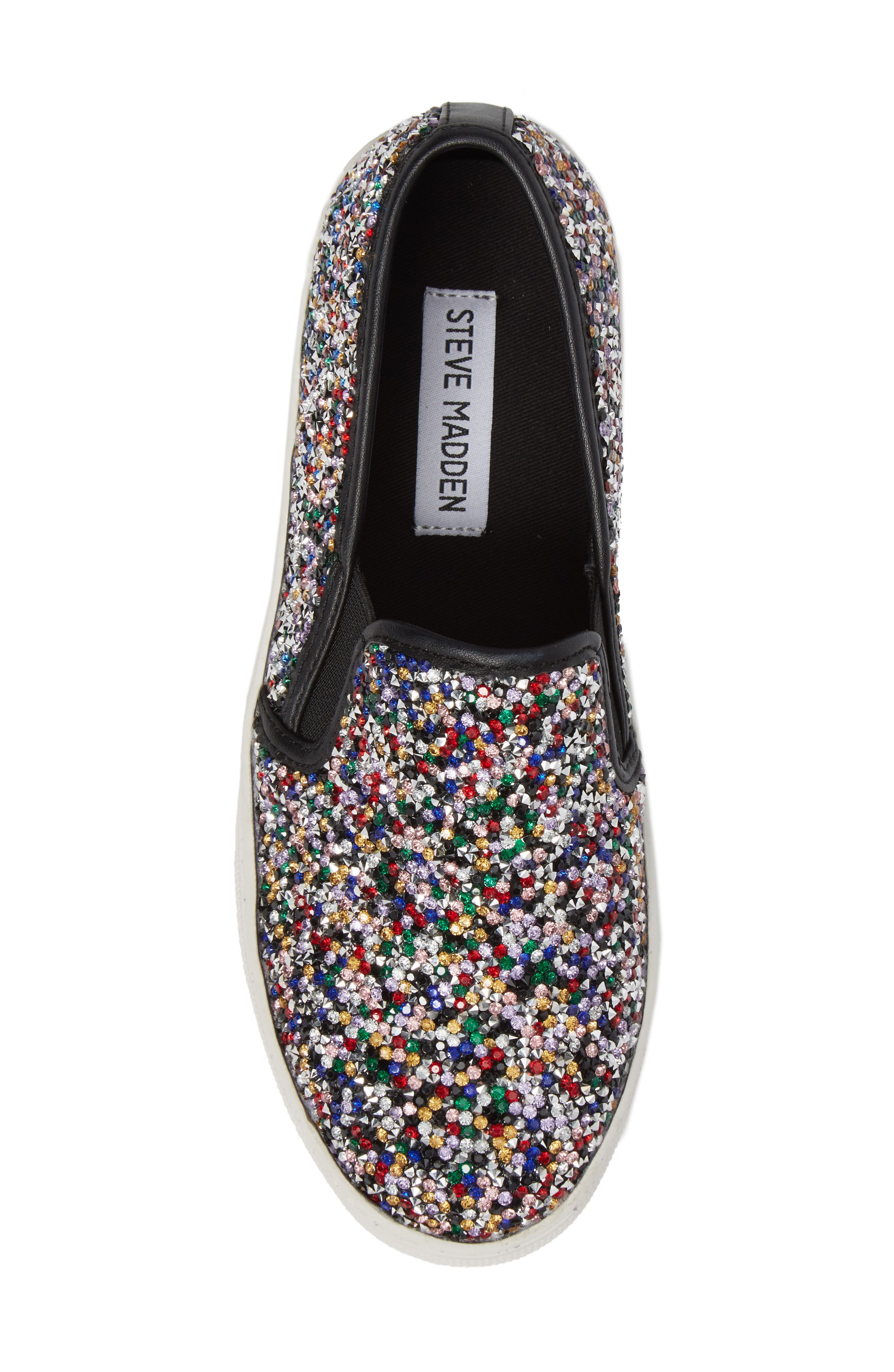 Alternate Image 5  - Steve Madden Gracious Slip-On Sneaker (Women)