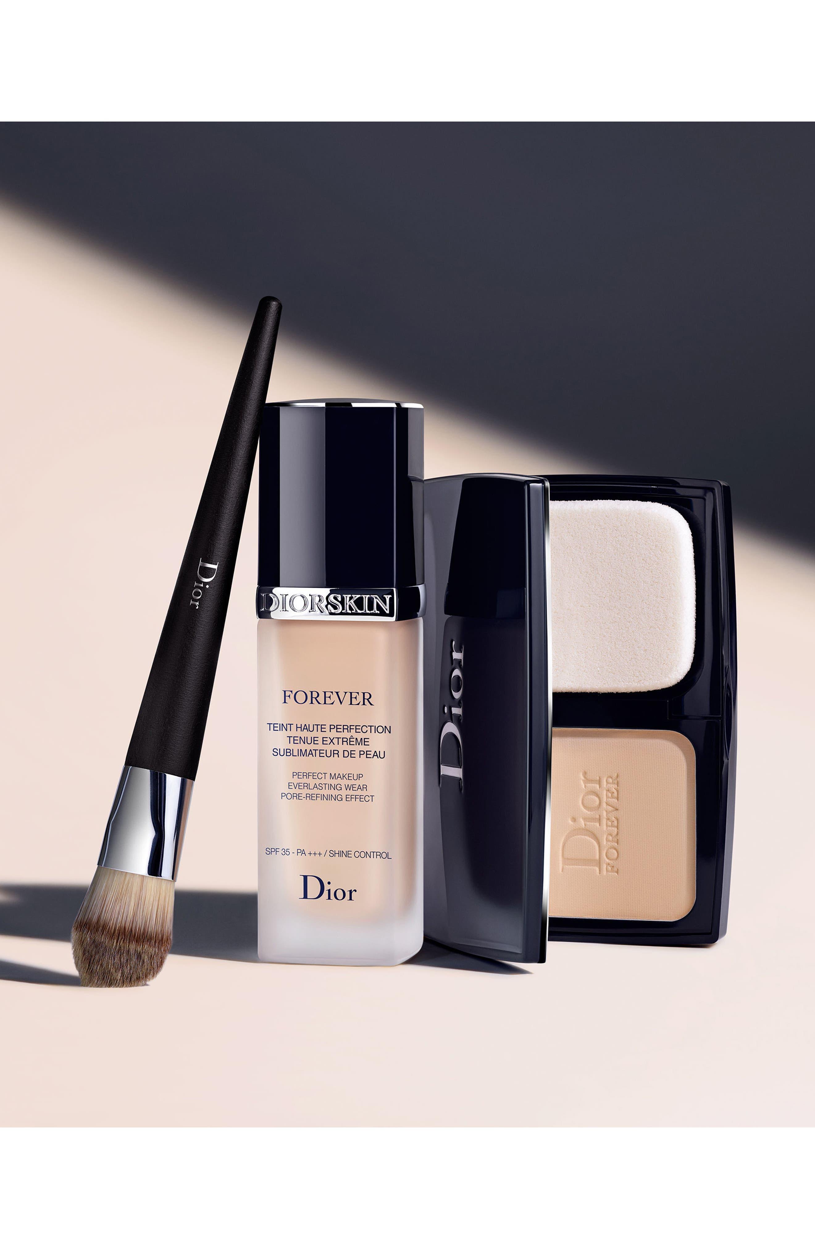 Alternate Image 3  - Dior 'Backstage Foundation - Light Coverage' Fluid Brush