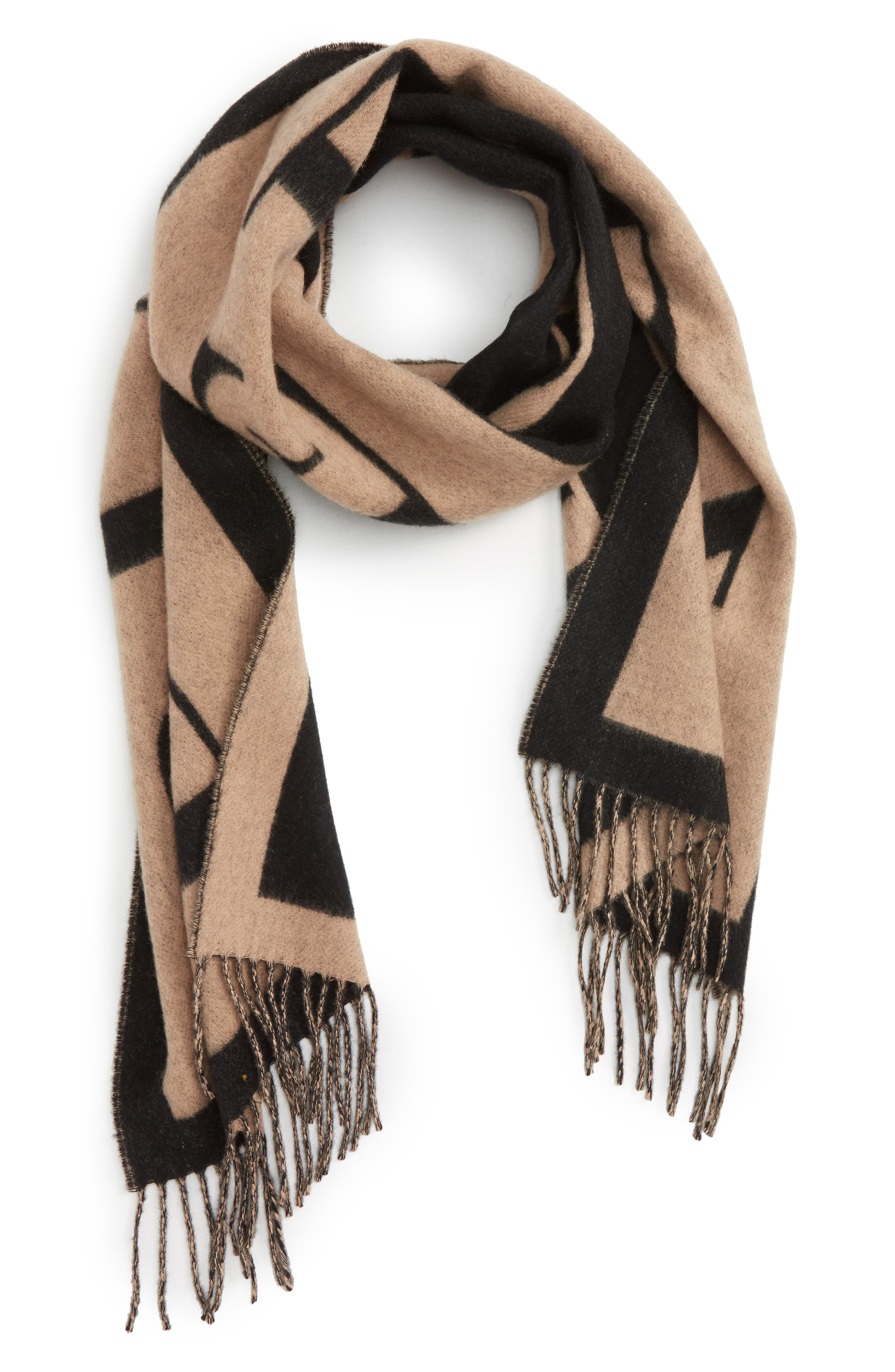 Alternate Image 1 Selected - Burberry Cashmere Scarf