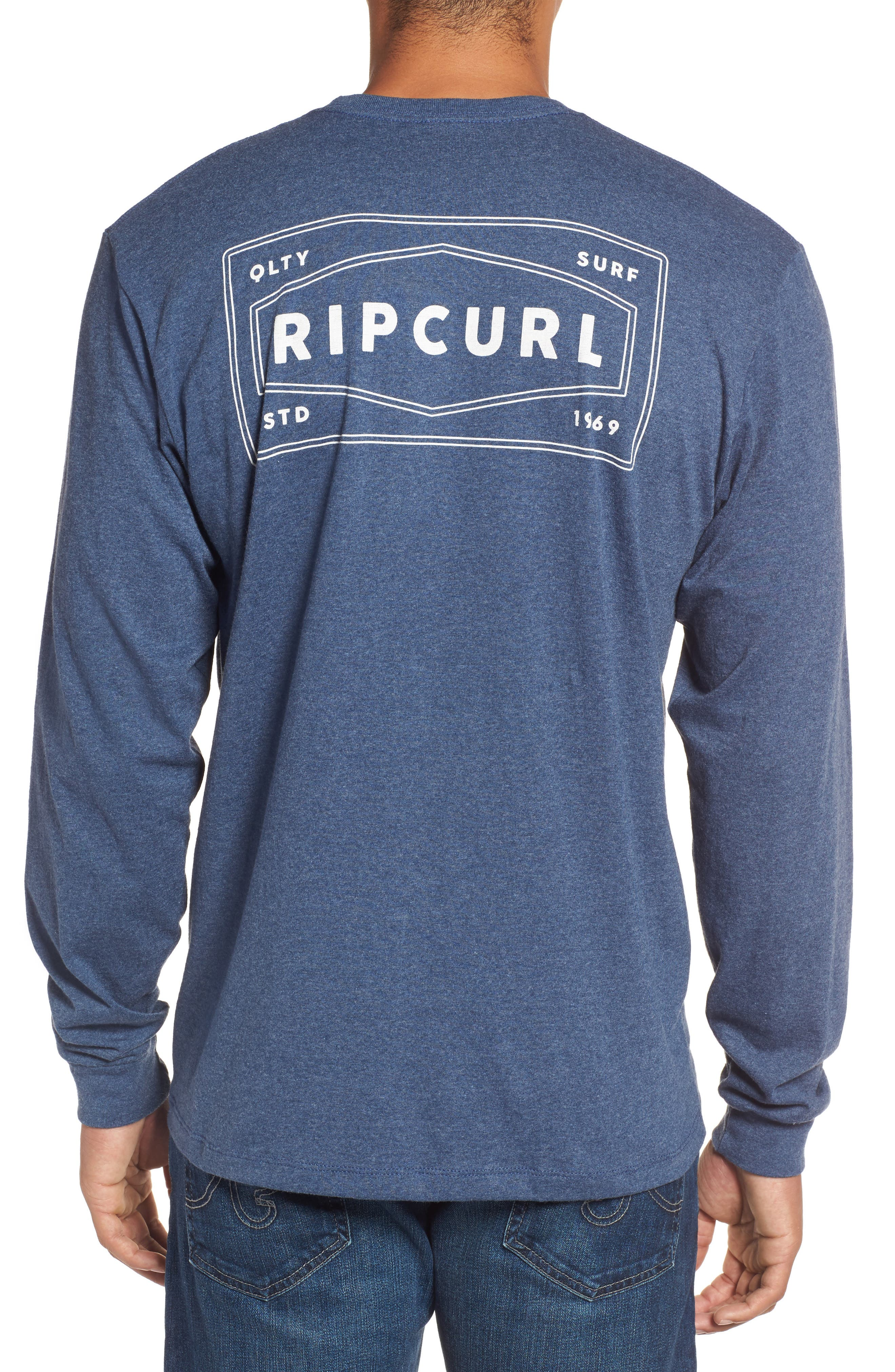 Alternate Image 2  - Rip Curl Down South Custom Graphic T-Shirt
