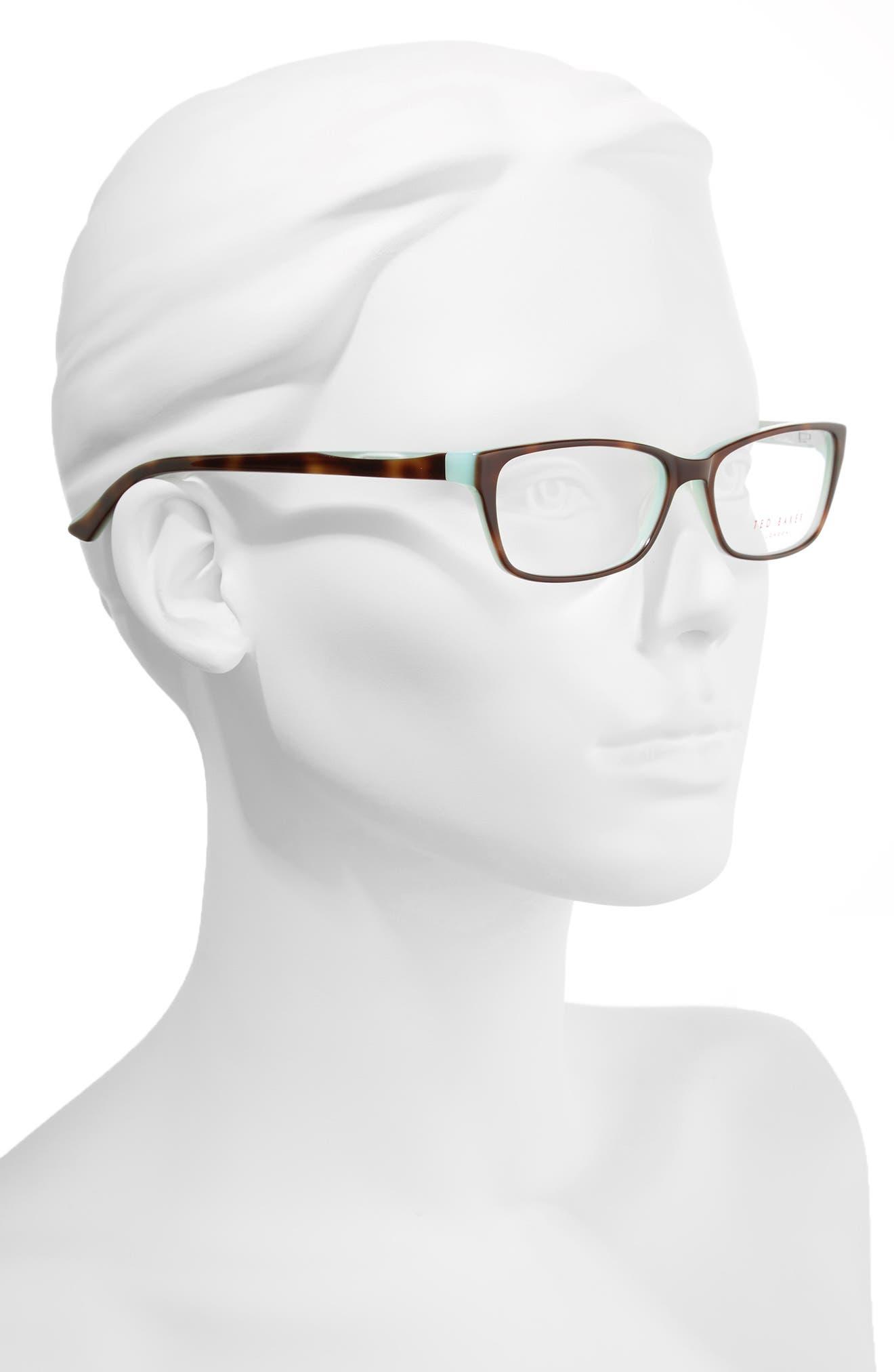 53mm Optical Glasses,                             Alternate thumbnail 2, color,                             Brown