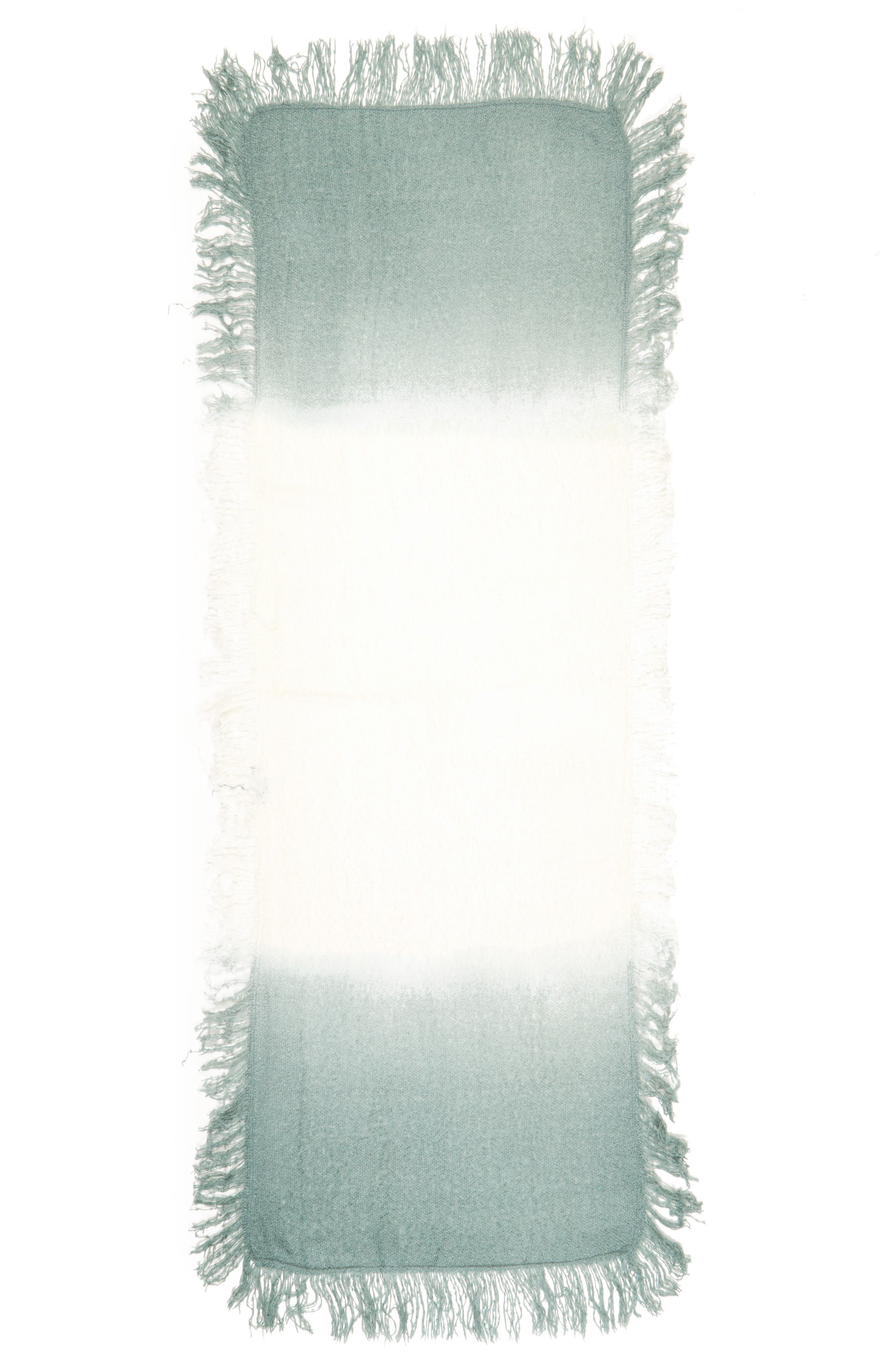 Alternate Image 2  - Accessory Collective Dip Dye Scarf