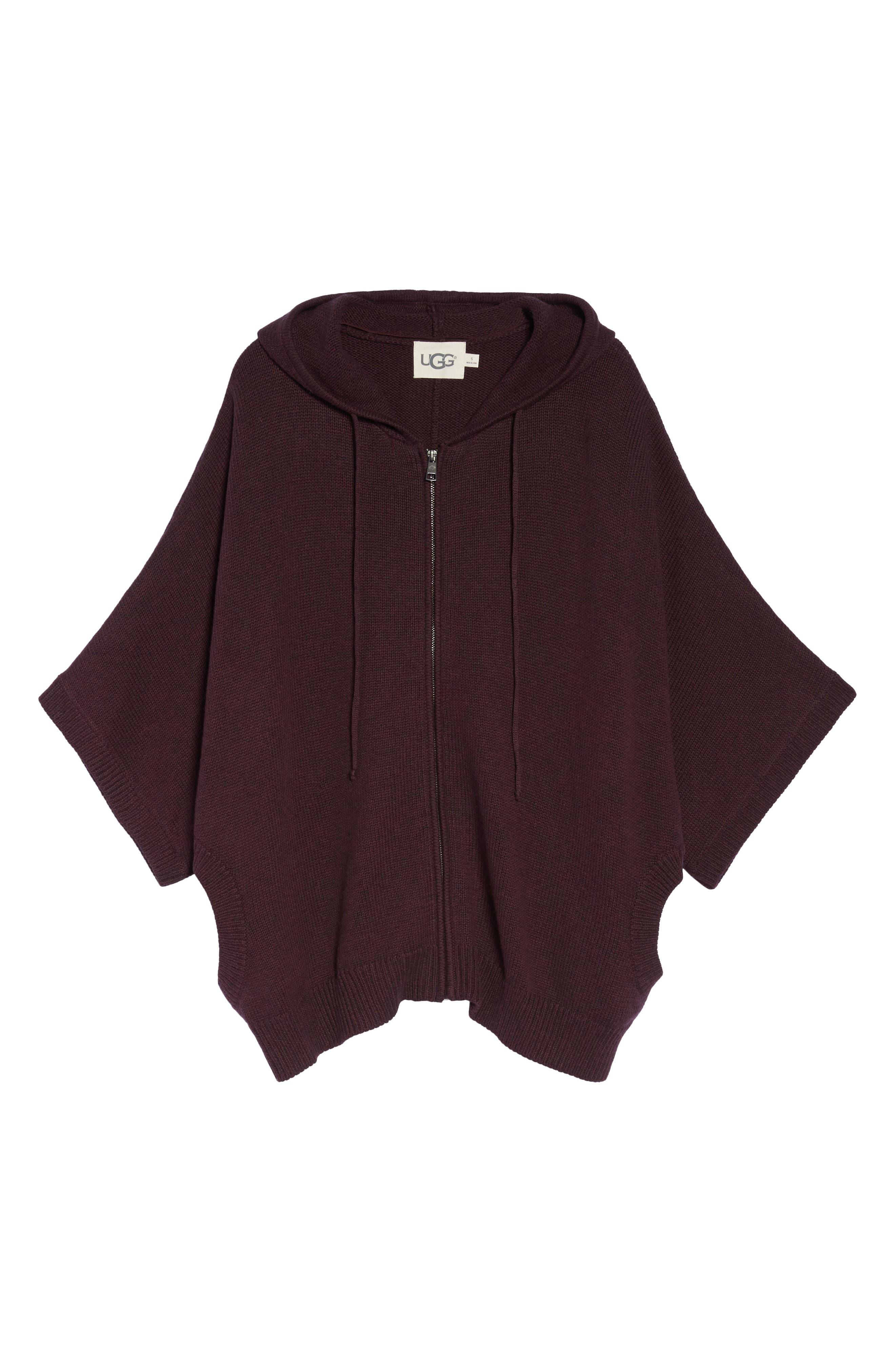 Alternate Image 4  - UGG® Sweater Knit Poncho