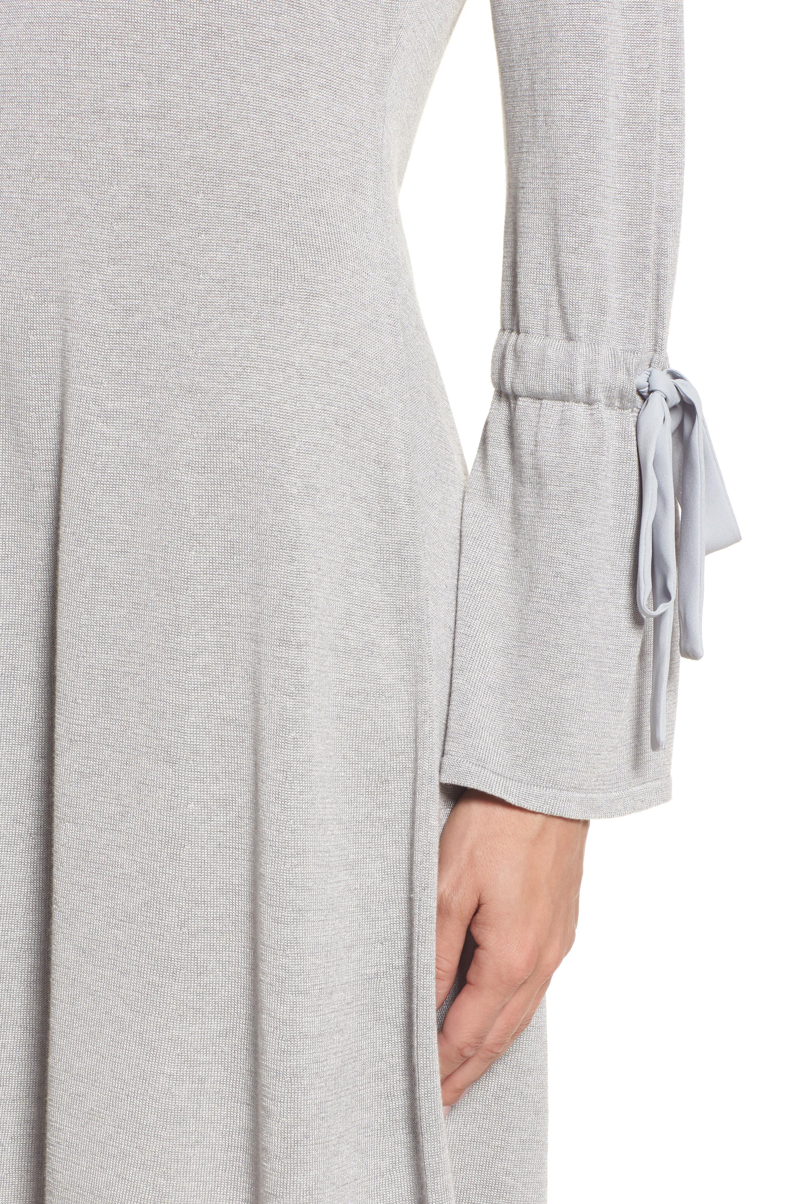 Alternate Image 5  - CeCe Bell Sleeve Sweater Dress