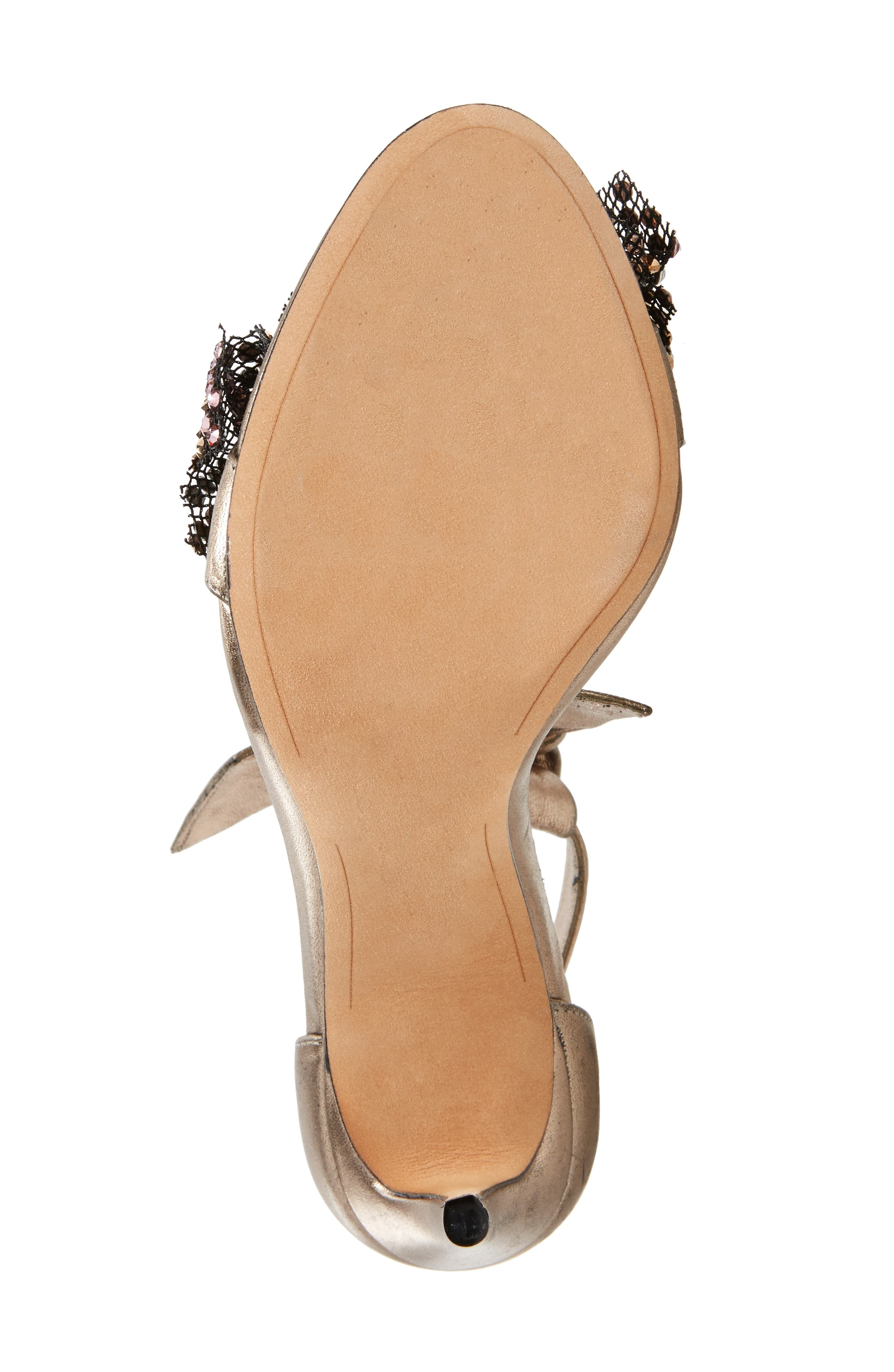 Alternate Image 6  - Alexandre Birman Clarita Show Embellished Ankle Tie Sandal