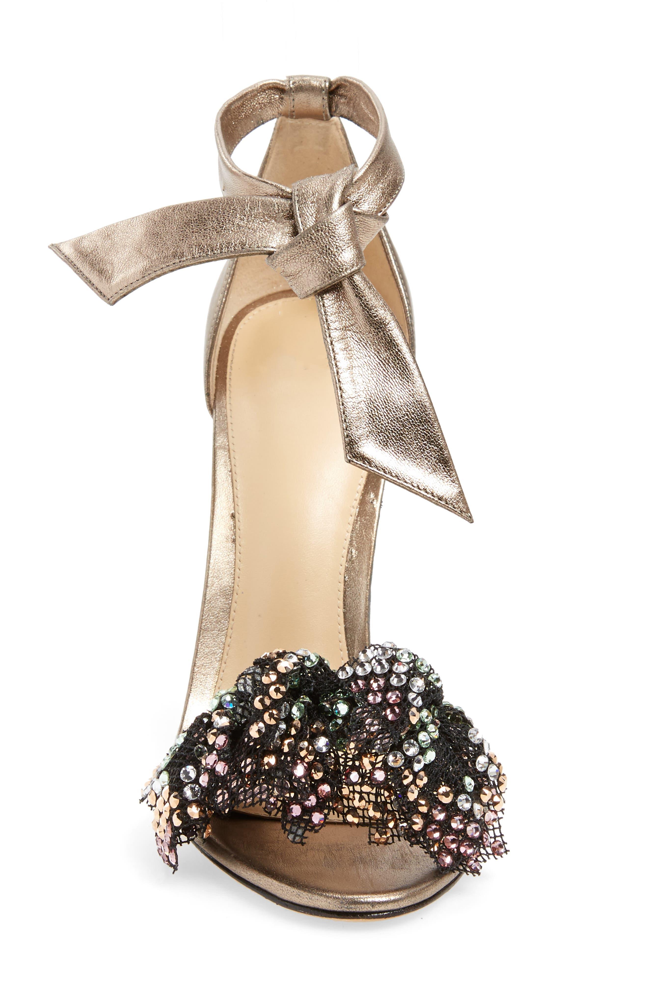 Alternate Image 4  - Alexandre Birman Clarita Show Embellished Ankle Tie Sandal