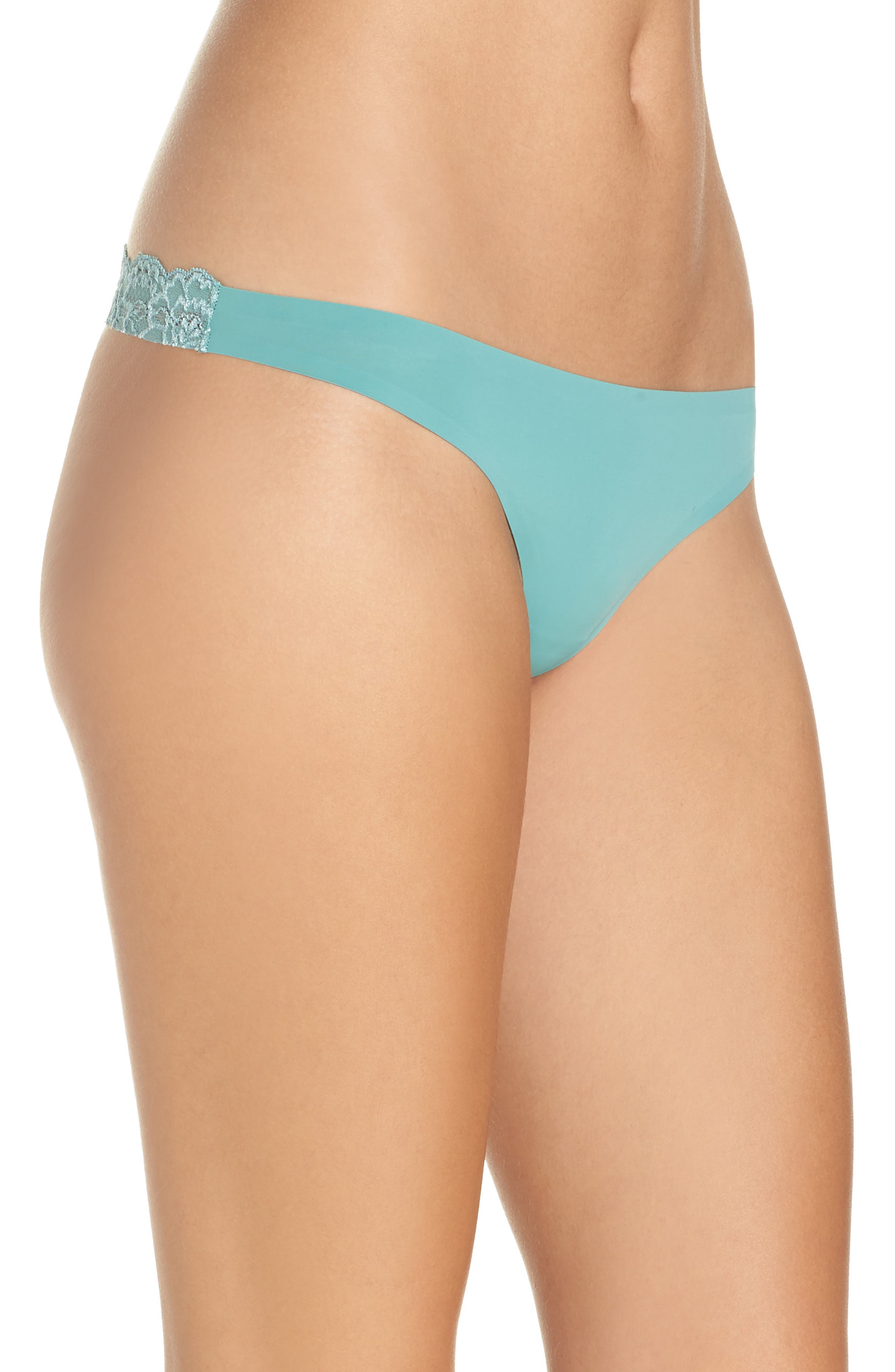 Intimately FP Smooth Thong,                             Alternate thumbnail 3, color,                             Mint