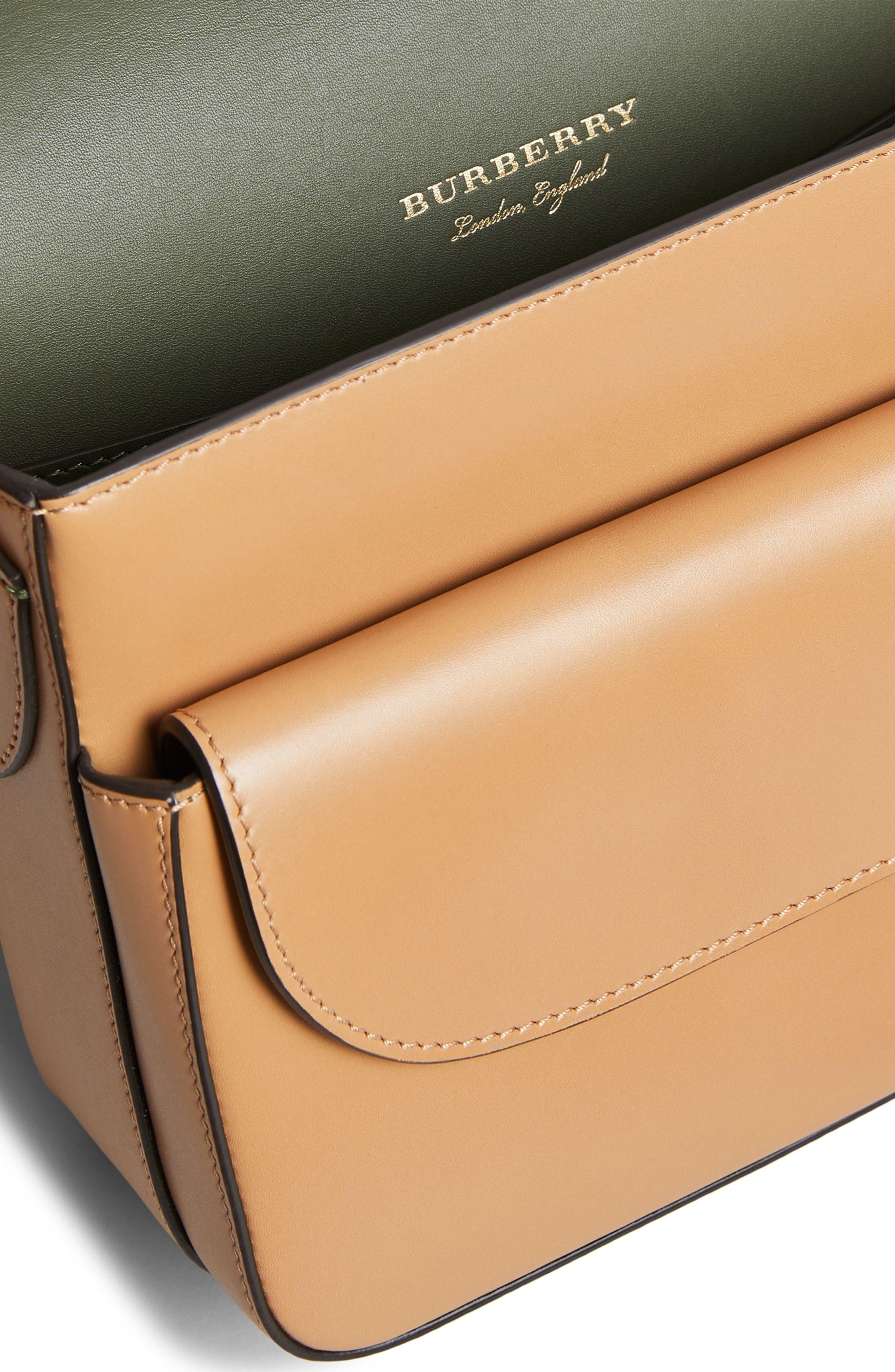 Alternate Image 5  - Burberry Leather Shoulder Bag