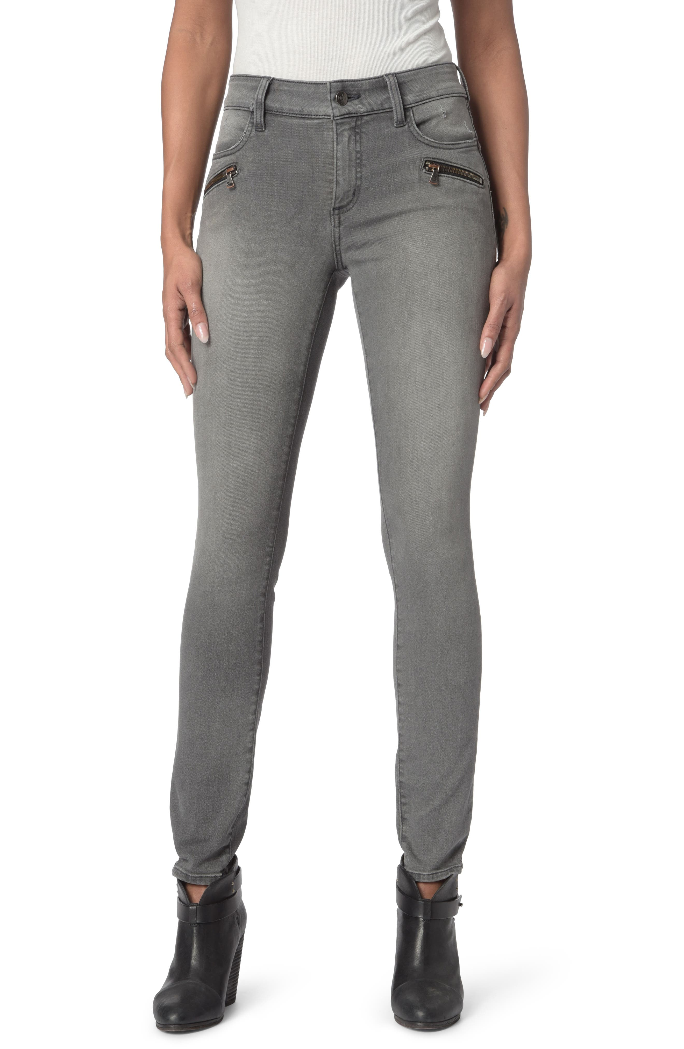 Alina Zippered Legging Jeans,                         Main,                         color, Alchemy