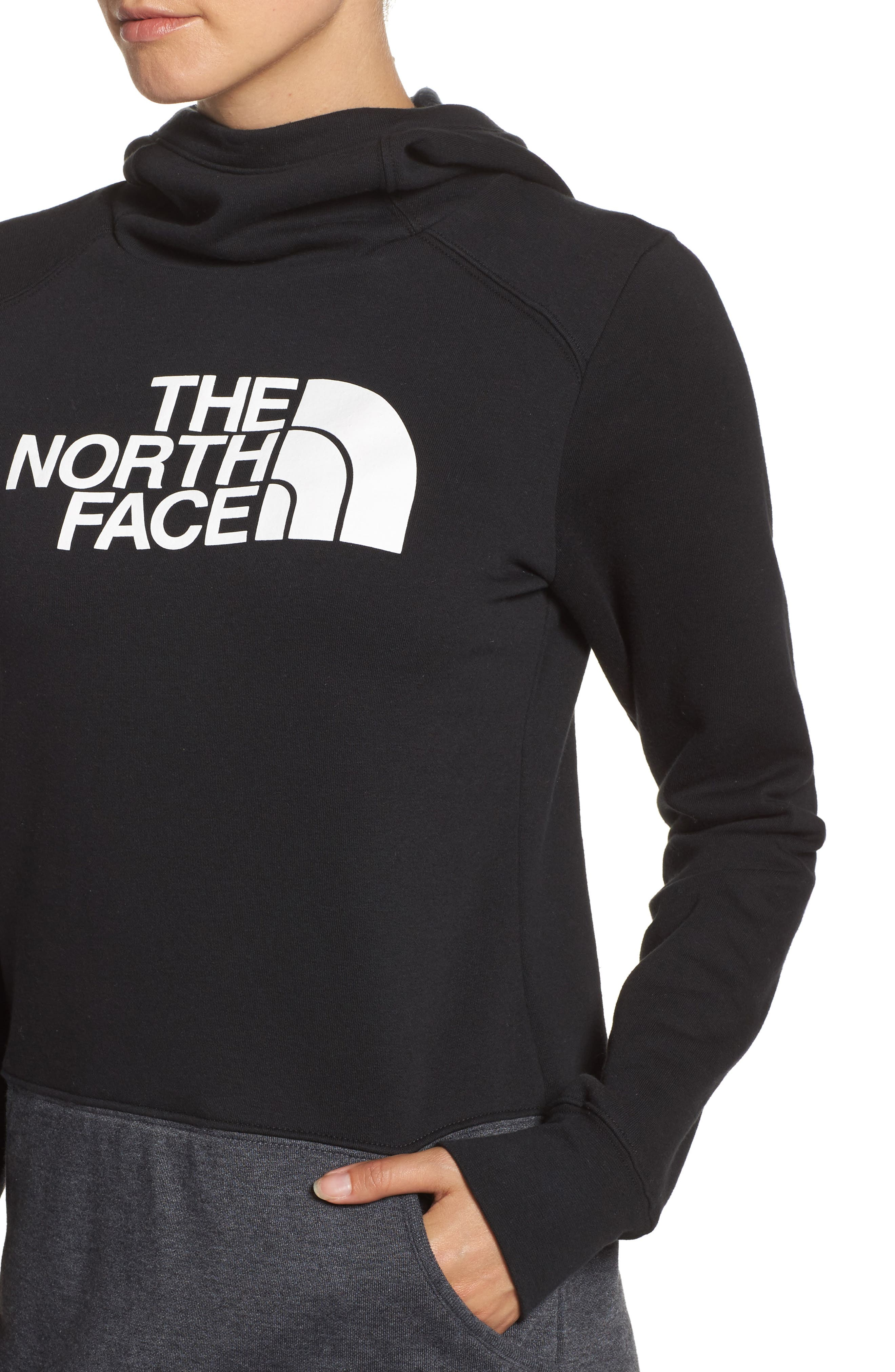 Alternate Image 4  - The North Face Half Dome Extra Long Hoodie