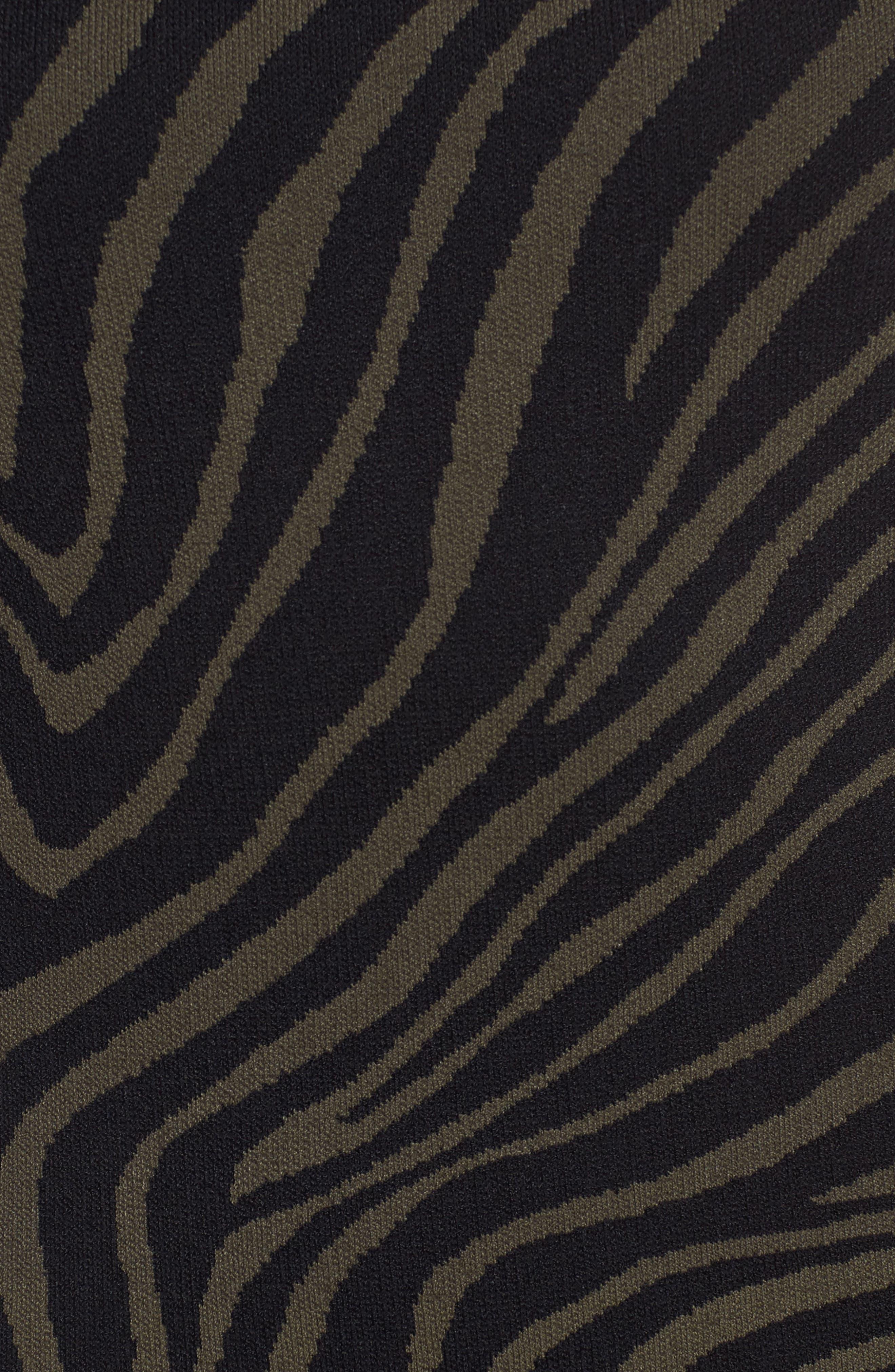 Double Trim Tank Dress,                             Alternate thumbnail 5, color,                             Ivy