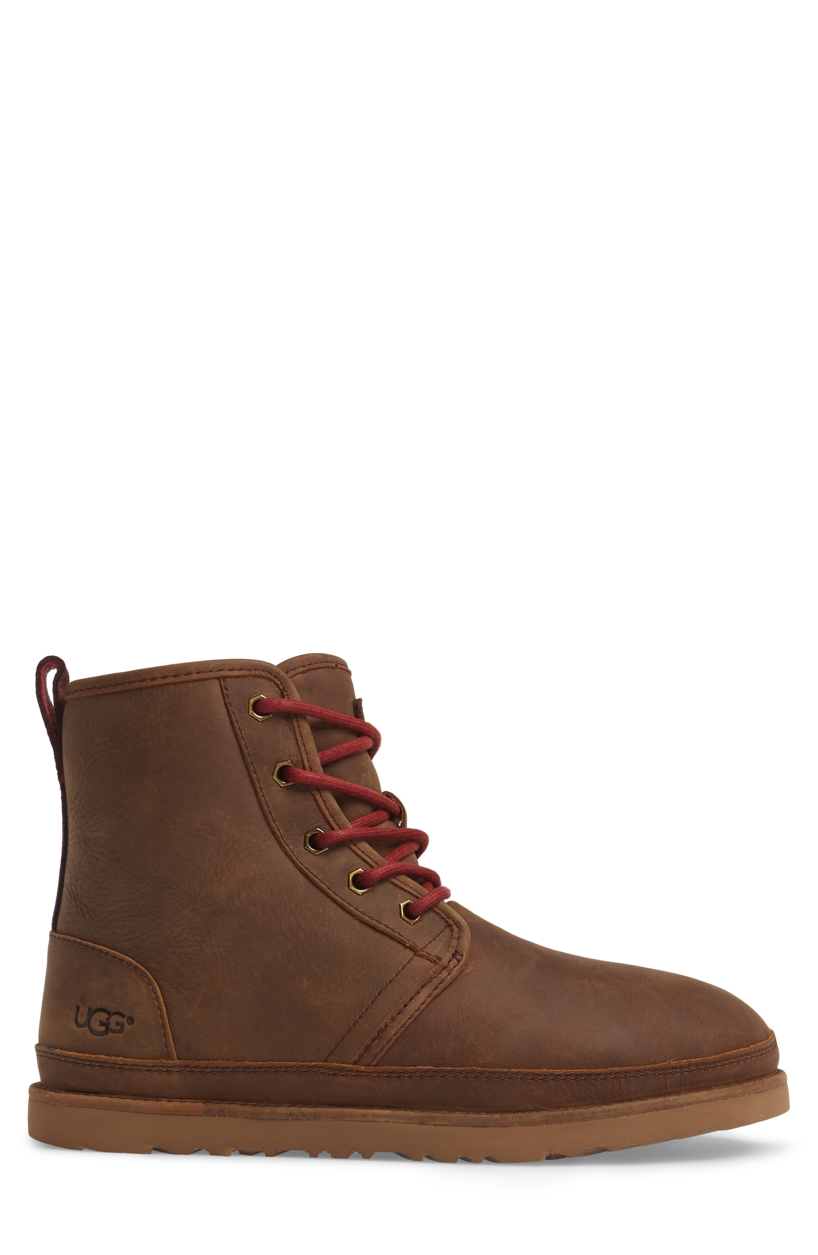 Harkley Plain Toe Boot,                             Alternate thumbnail 3, color,                             Grizzly