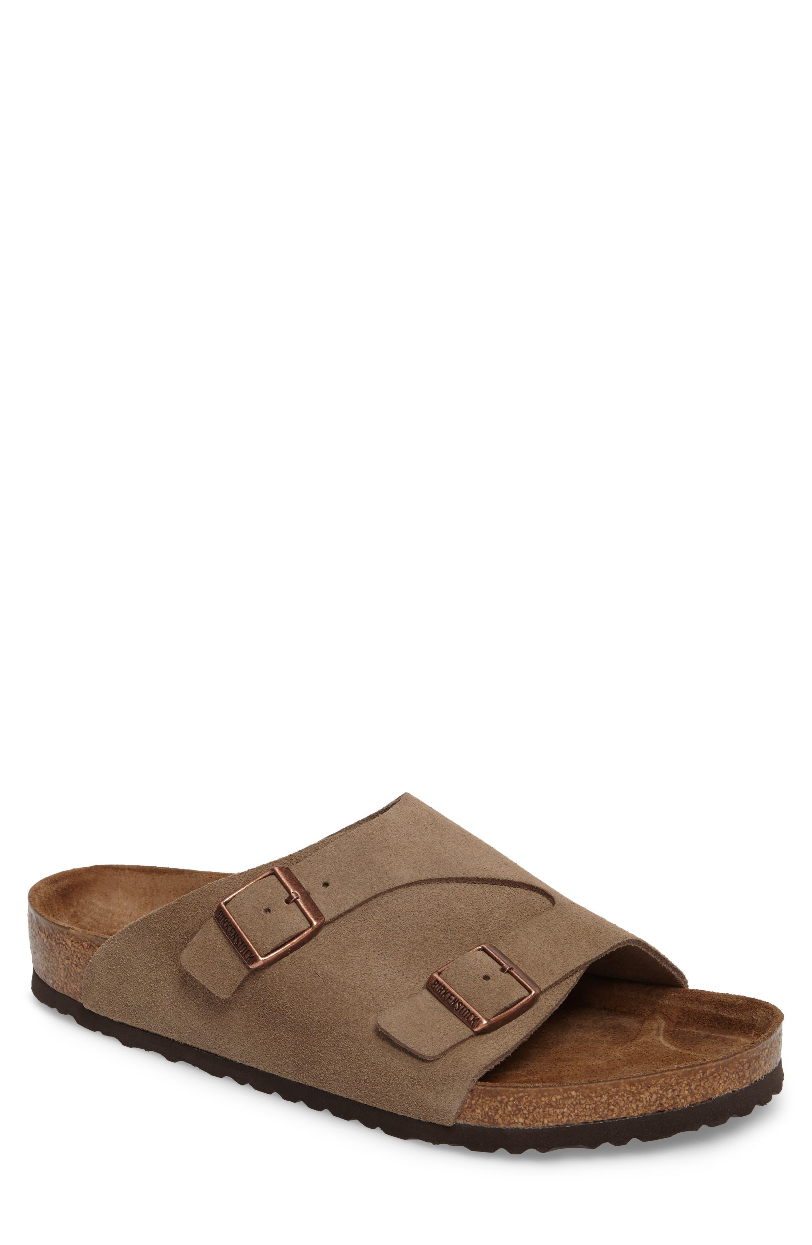 Alternate Image 1 Selected - Birkenstock Zurich Slide Sandal (Men)
