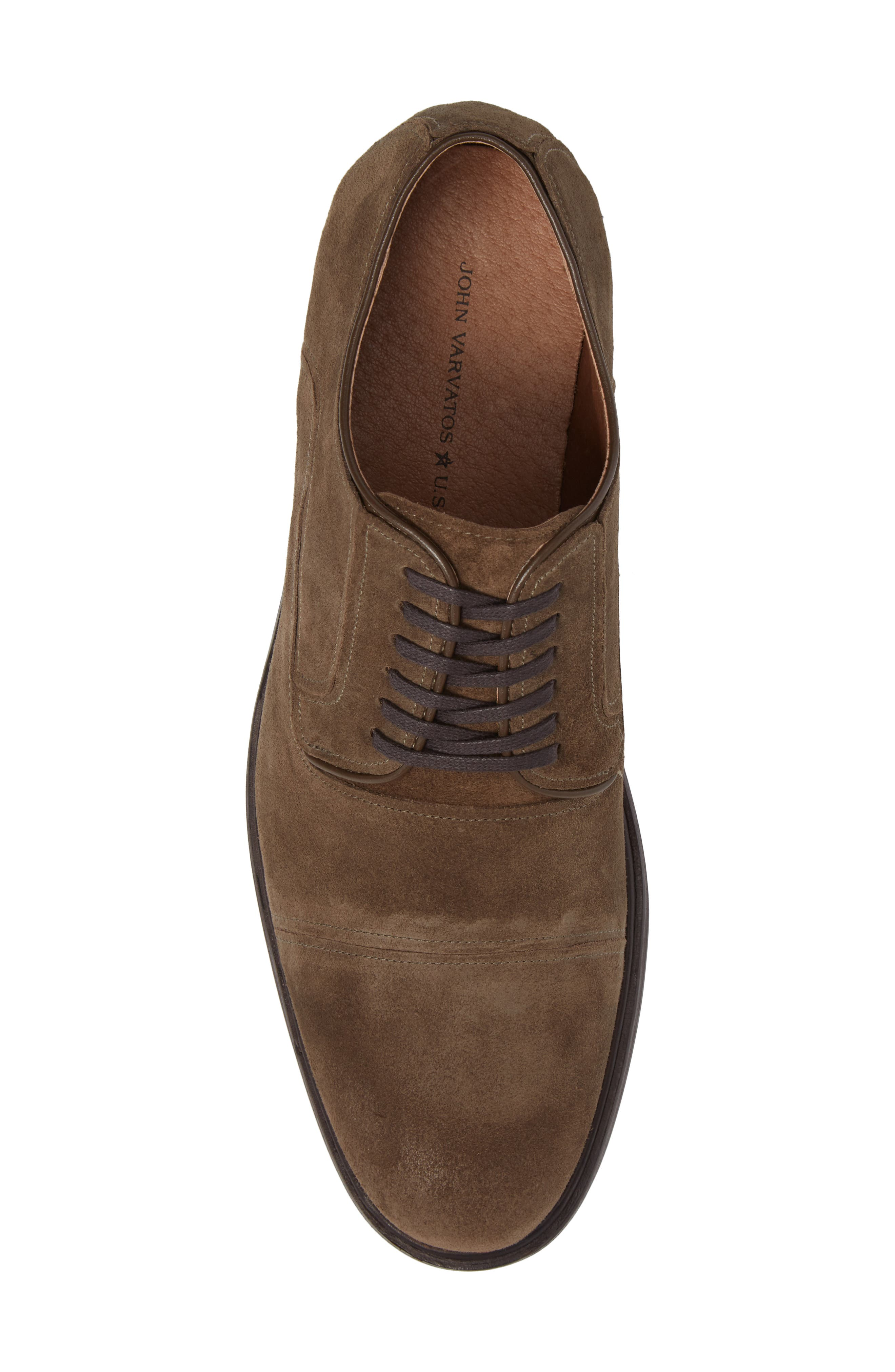 Alternate Image 5  - John Varvatos Star USA Waverly Cap Toe Derby (Men)