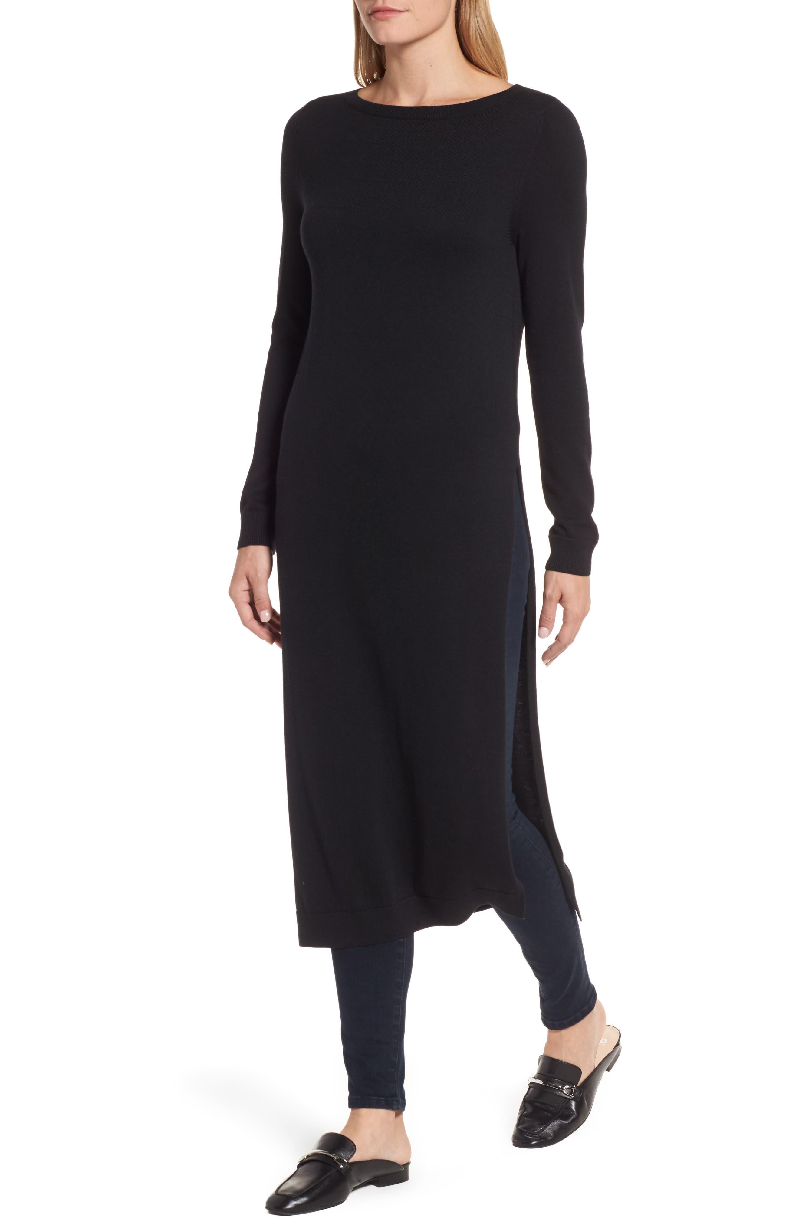 Alternate Image 4  - Halogen® Side Slit Tunic Sweater