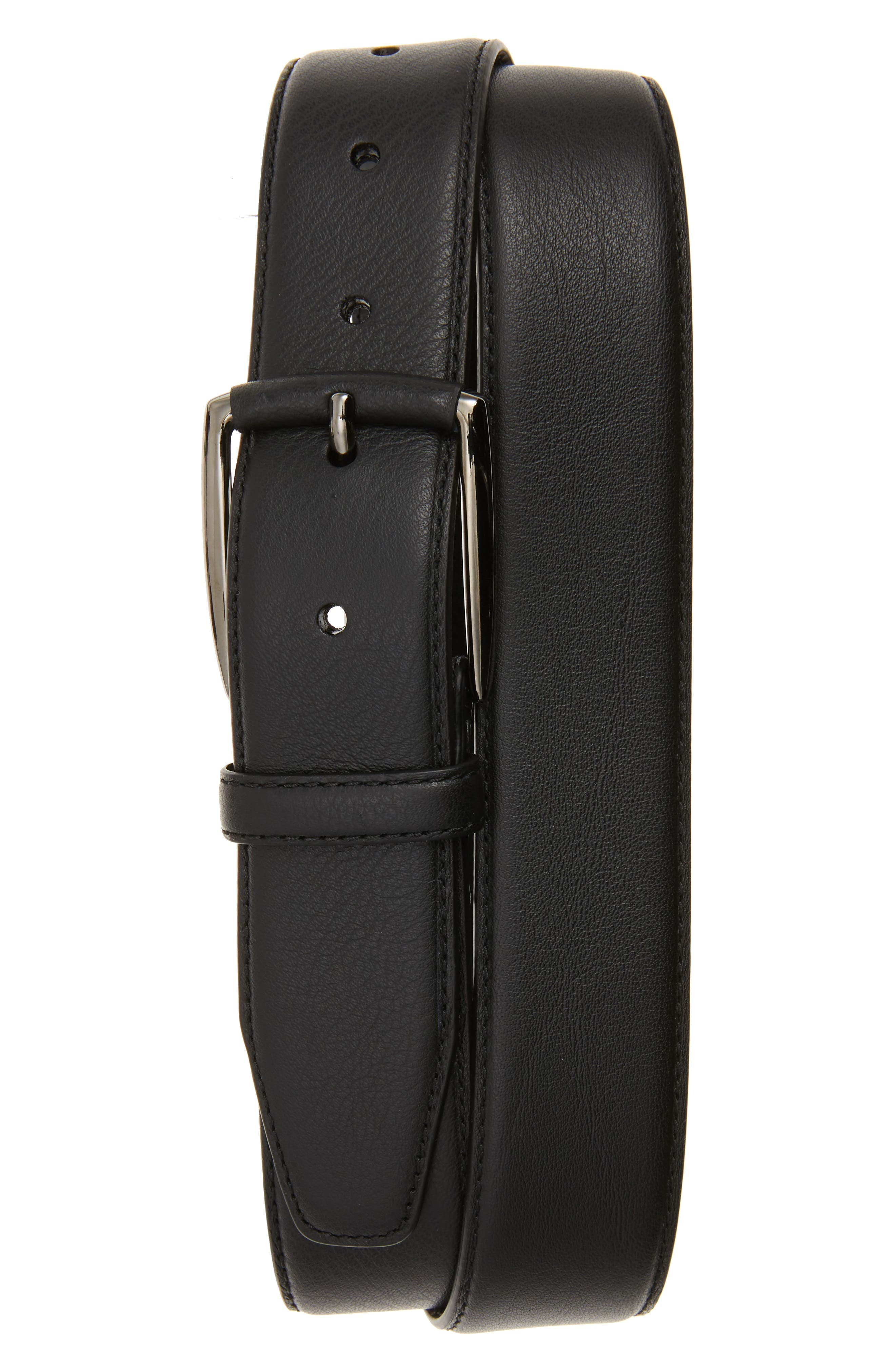 Alternate Image 1 Selected - Monte Rosso Trieste Leather Belt
