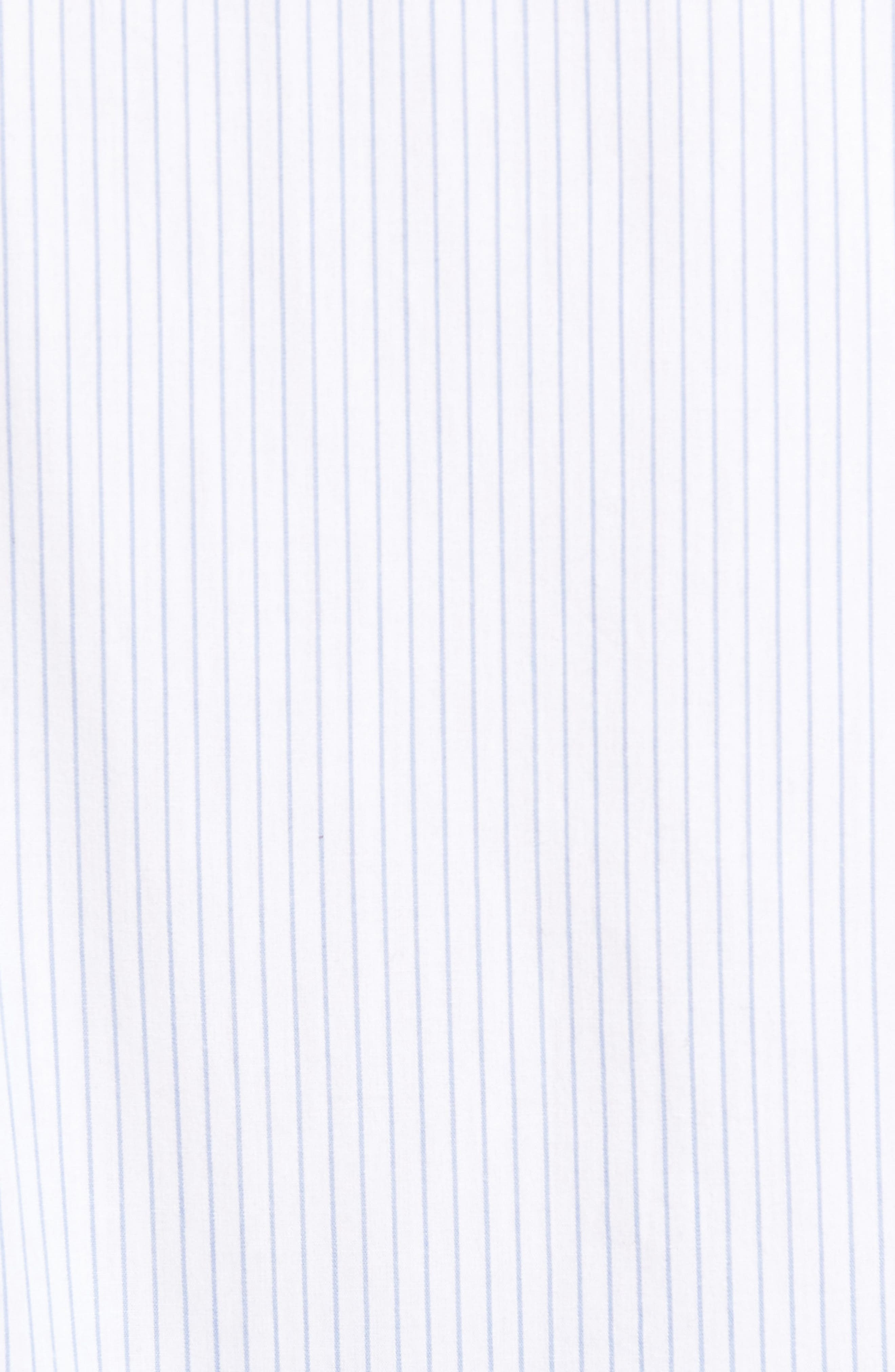 Alternate Image 5  - Brixton Reeve Pinstripe Woven Shirt