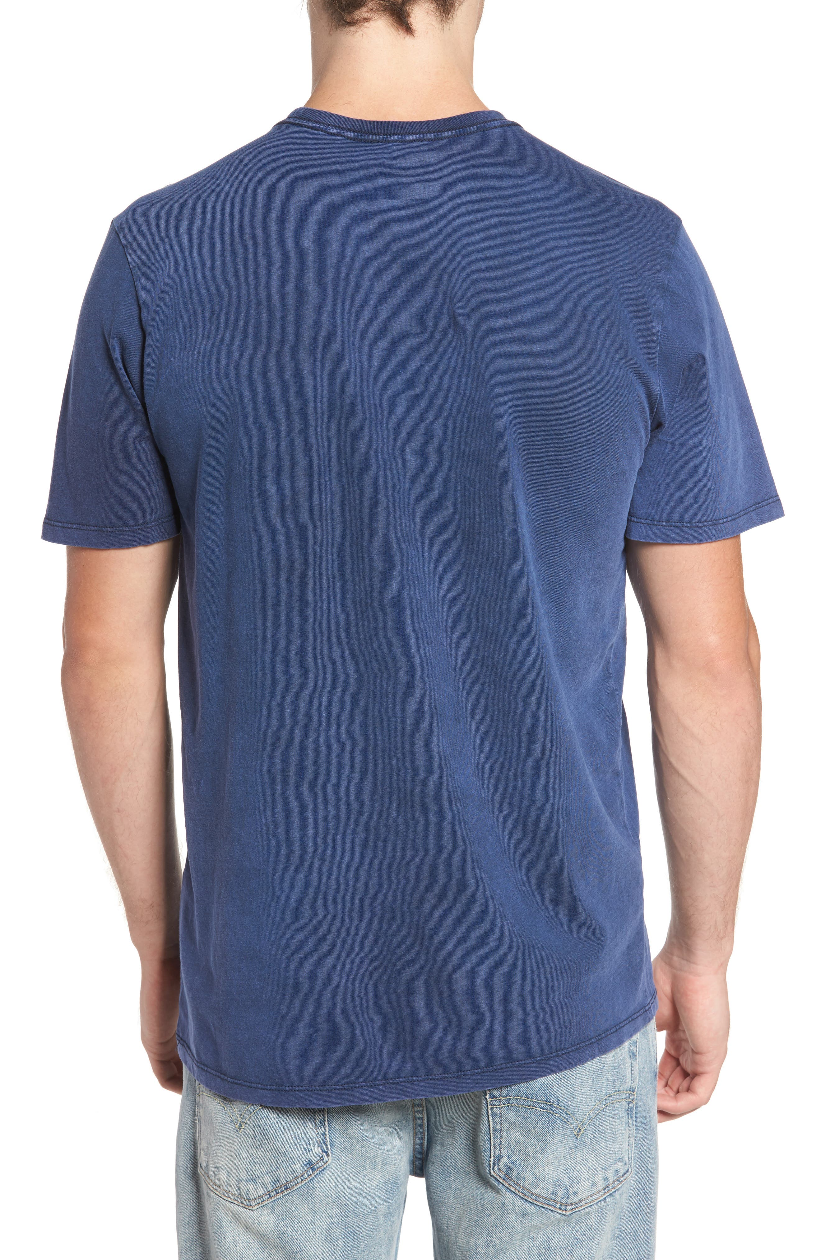 Alternate Image 2  - Hurley One and Only Acid Wash T-Shirt