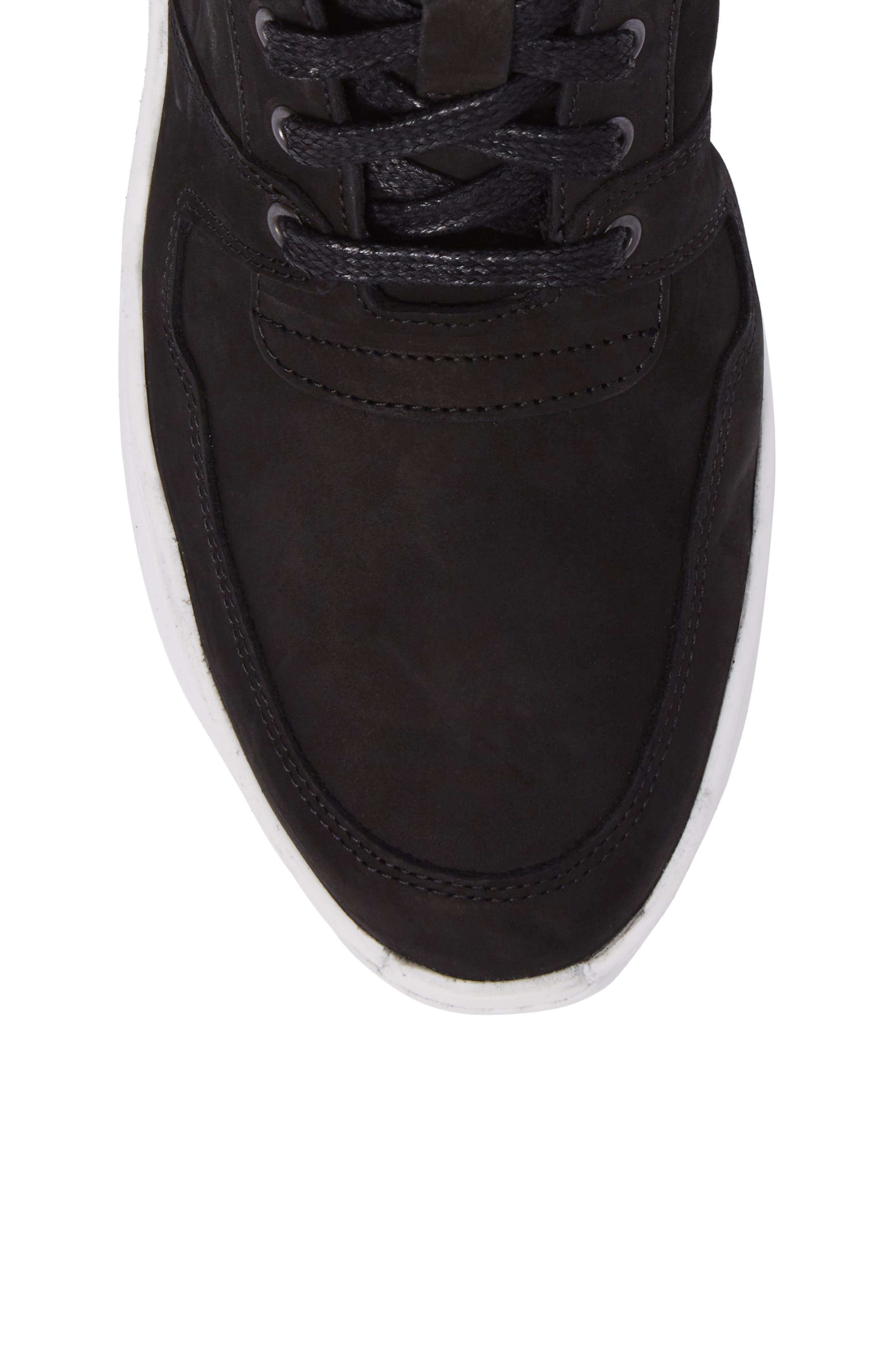 Transformed Sneaker,                             Alternate thumbnail 5, color,                             Basic Black