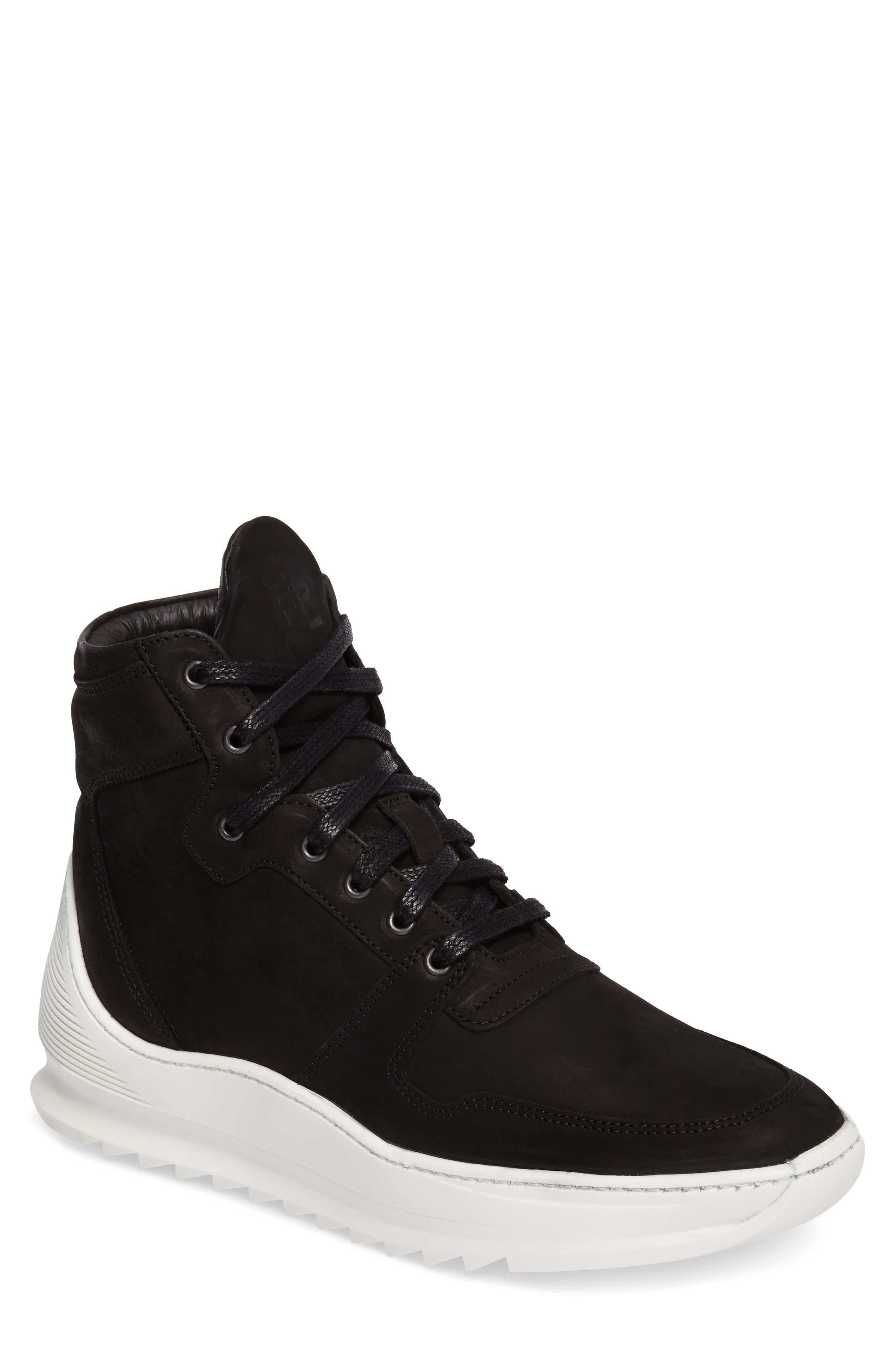 Transformed Sneaker,                         Main,                         color, Basic Black