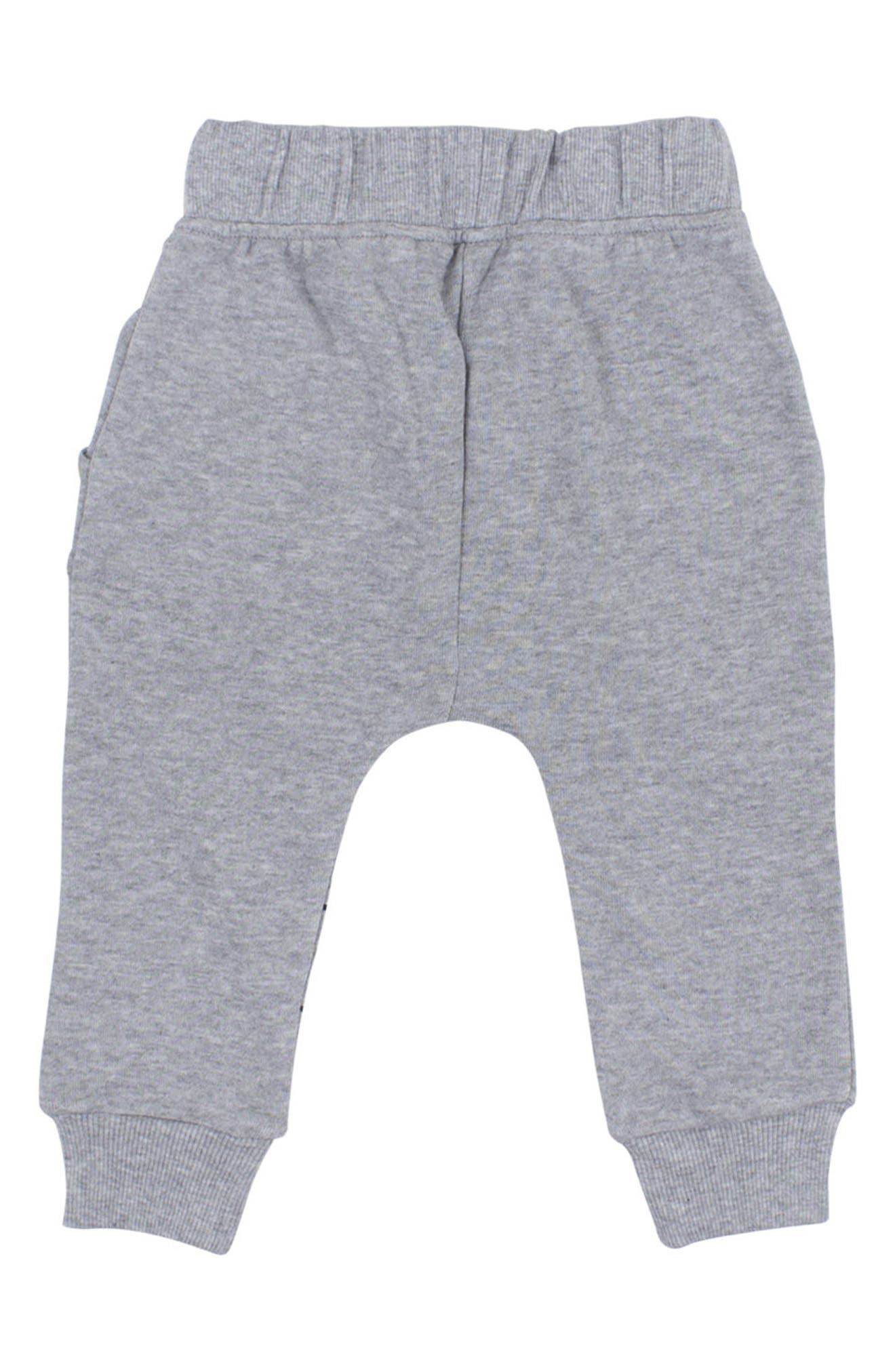Alternate Image 3  - Tiny Tribe Rockstar T-Shirt & Jogger Pants Set (Baby)