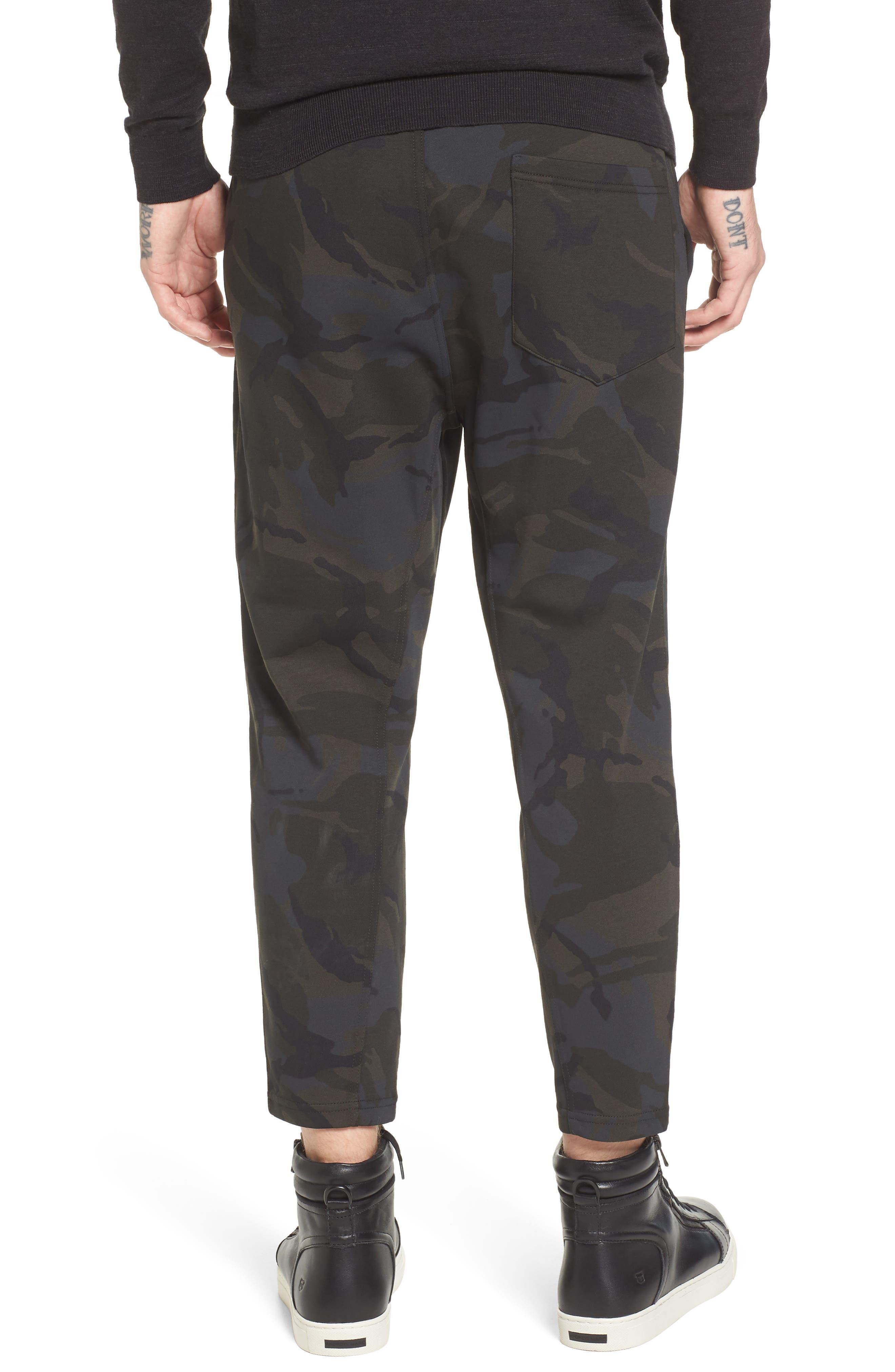 Core Crop Sweatpants,                             Alternate thumbnail 2, color,                             Grey
