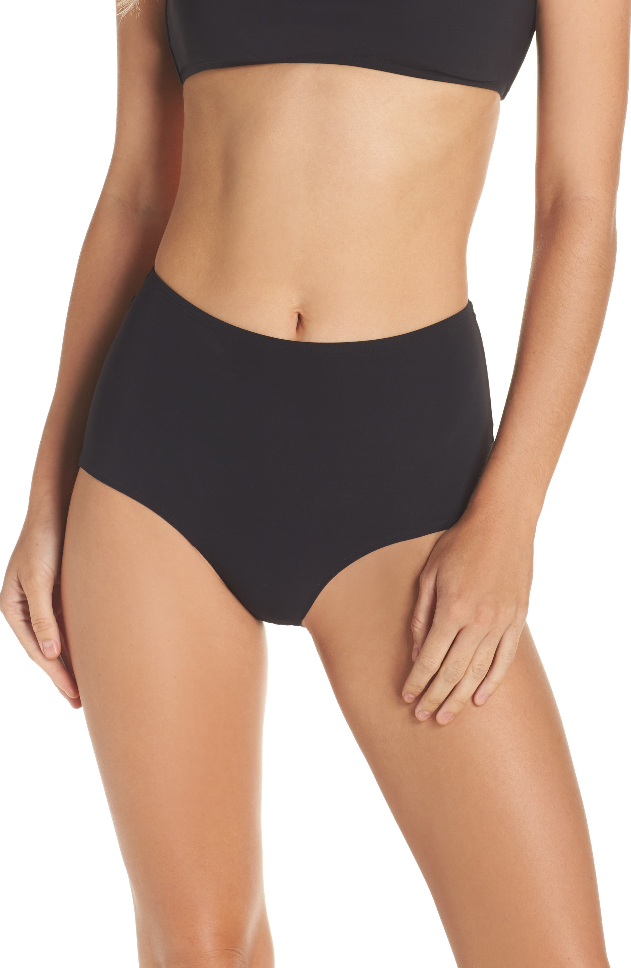 Tory Burch High Waist Bikini Bottoms