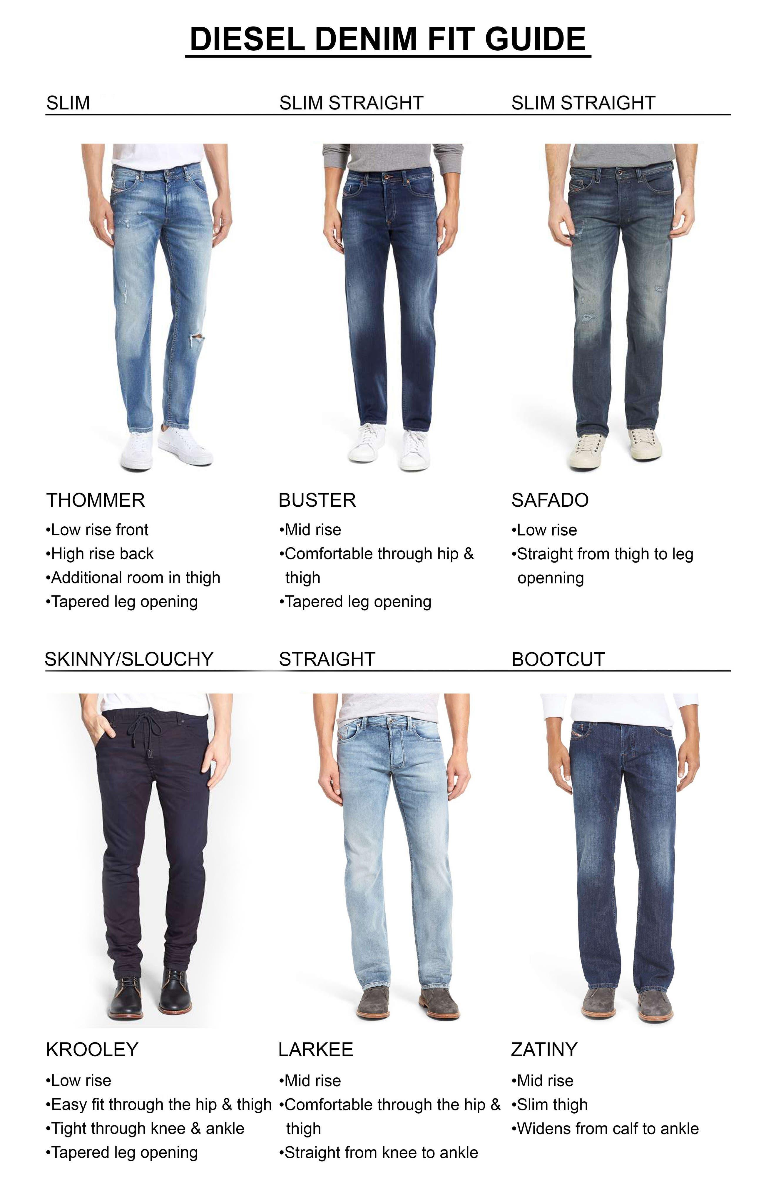 Alternate Image 6  - DIESEL® Thommer Slim Fit Jeans (859K)