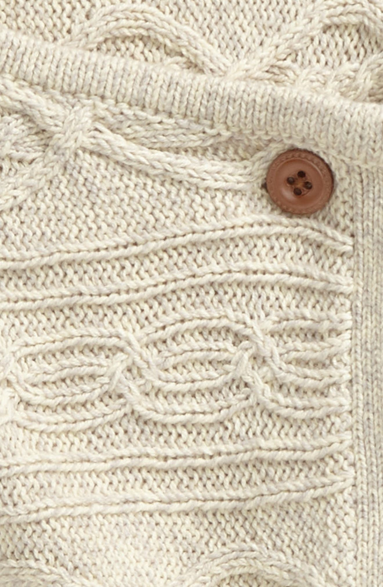 Catriona Knit Cardigan,                             Alternate thumbnail 2, color,                             Cream