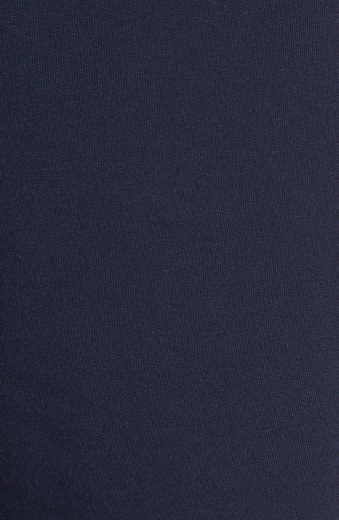 Modal Blend Lounge Shorts,                             Alternate thumbnail 5, color,                             Ink