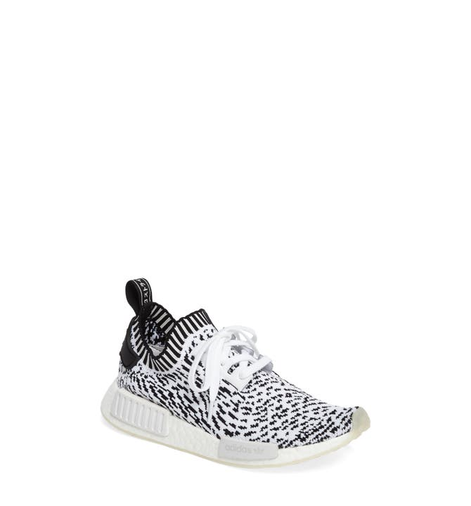 Adidas NMD R1 PK BLACK Sashiko White Zebra Cheap NMD Shoes