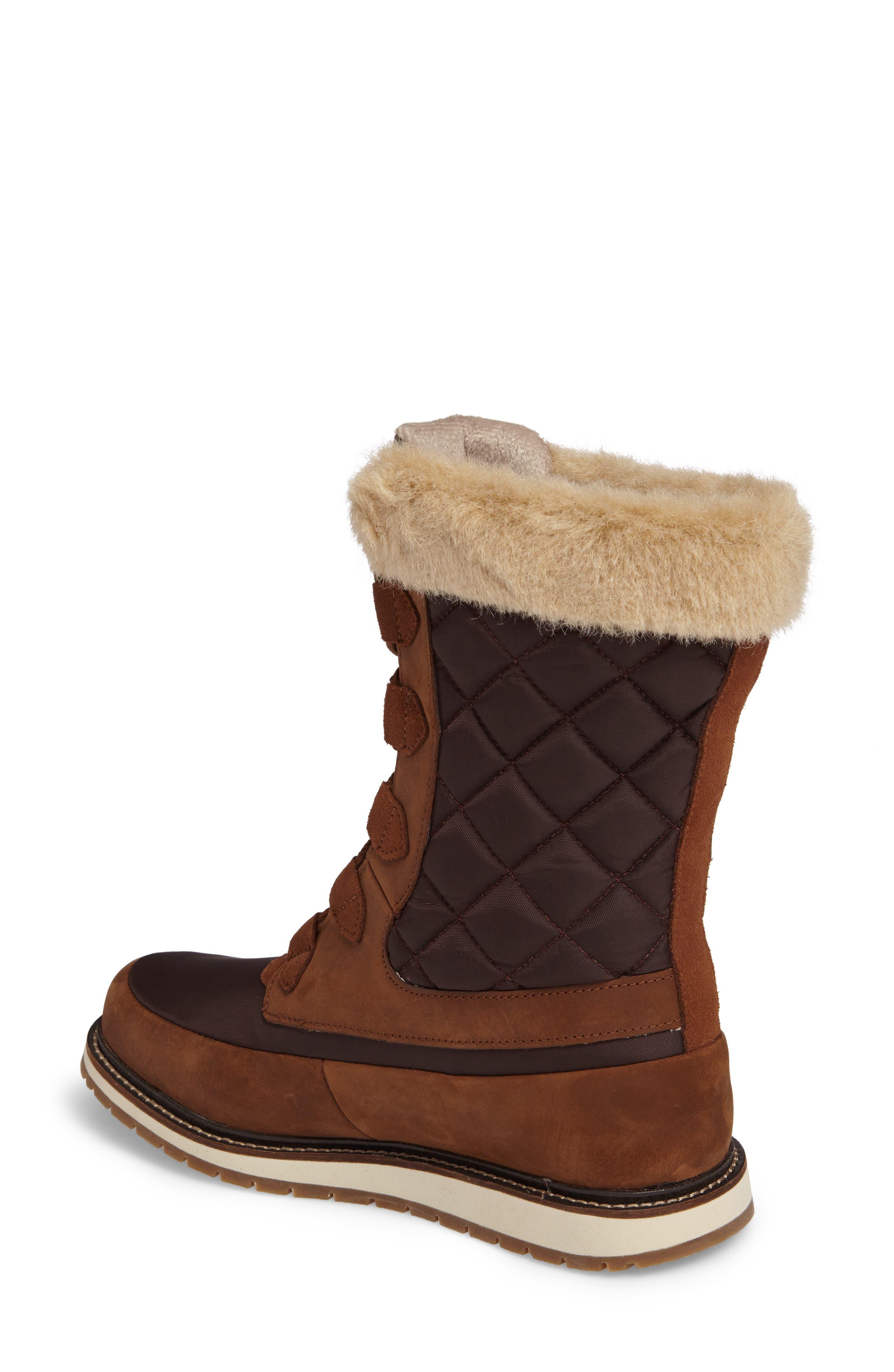 Alternate Image 2  - Helly Hansen Arosa Waterproof Boot with Faux Fur Trim (Women)