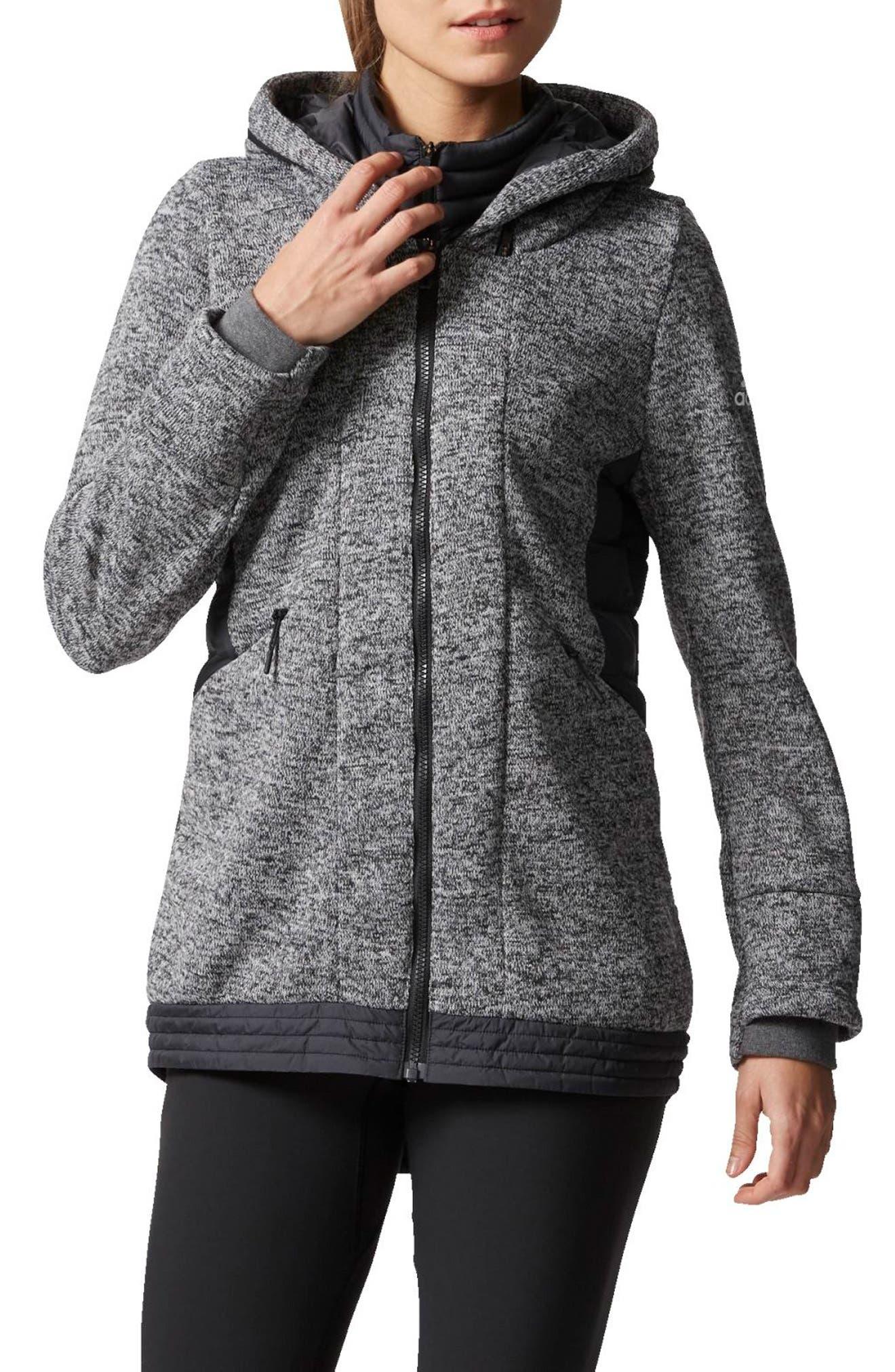 adidas Nuvic Hybrid 2 Fleece/Puffer Jacket