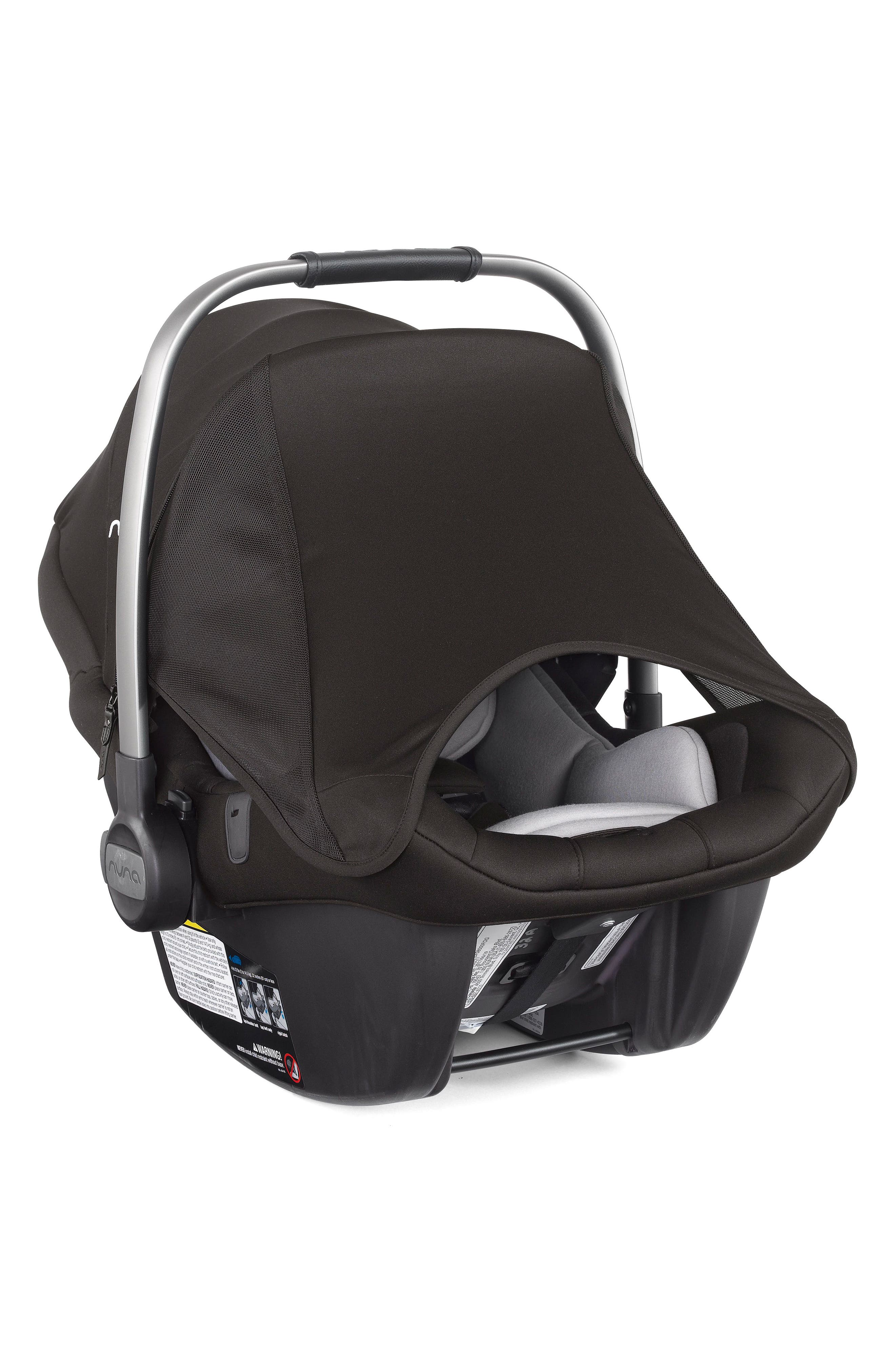 2017 PIPA<sup>™</sup> Lite LX Infant Car Seat & Base,                             Alternate thumbnail 7, color,                             Caviar