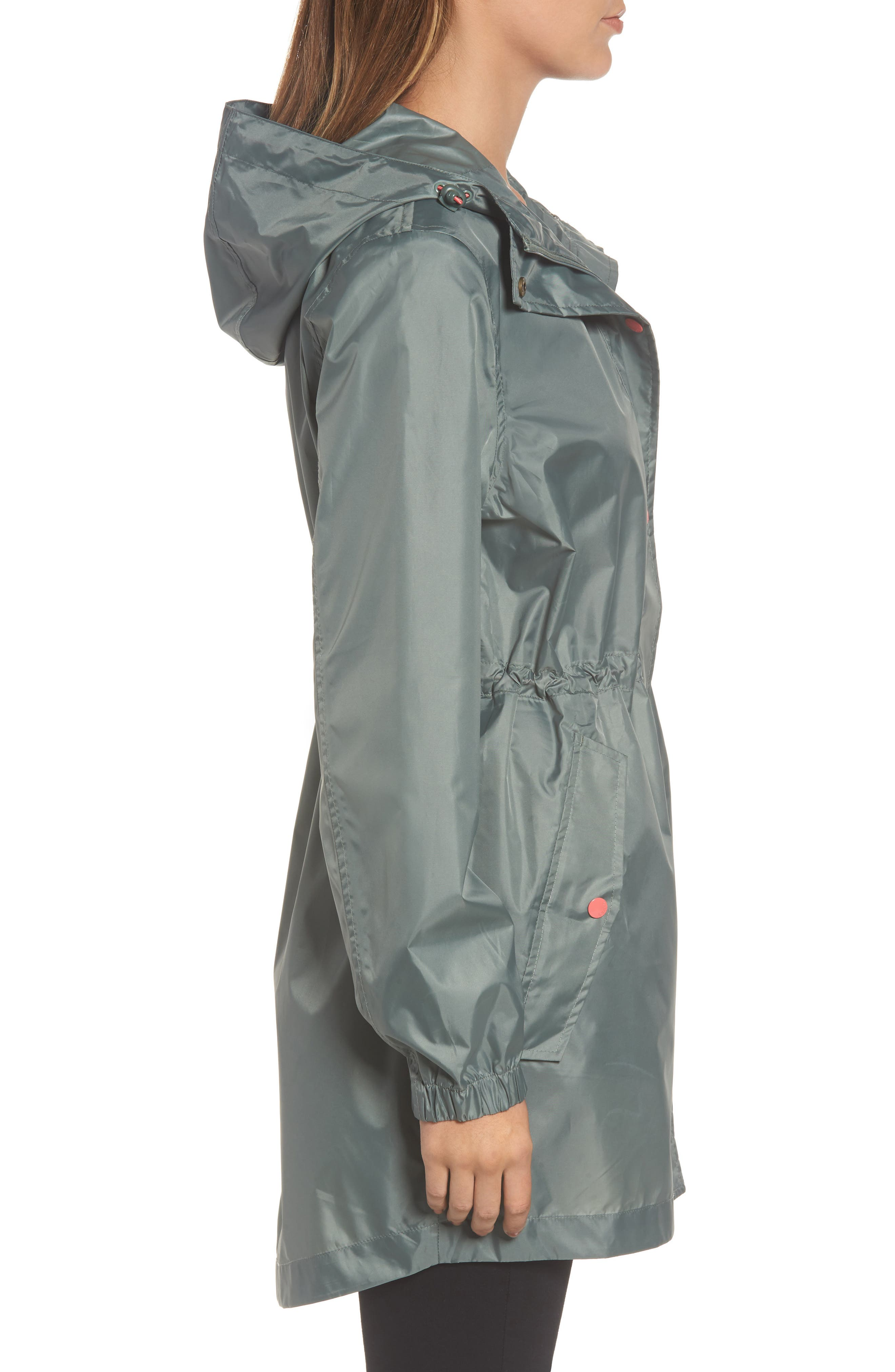 Alternate Image 3  - Joules Right as Rain Packable Hooded Raincoat