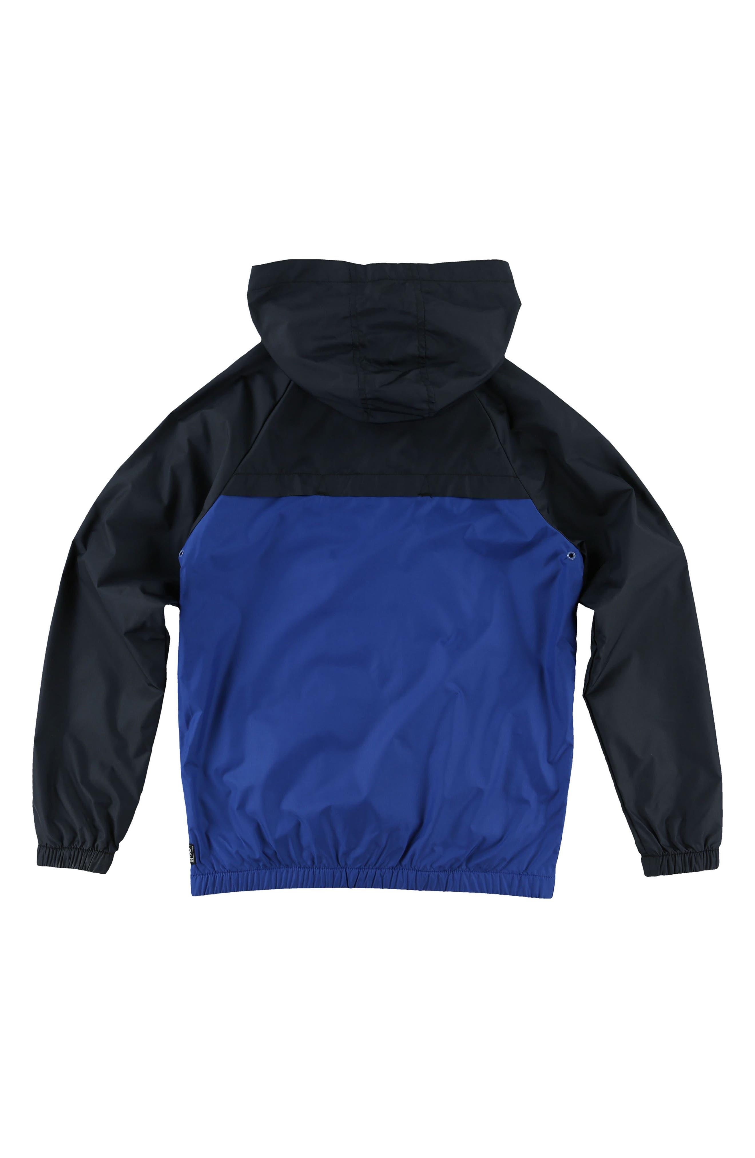 Alternate Image 2  - O'Neill Traveler Packable Windbreaker Jacket (Big Boys)