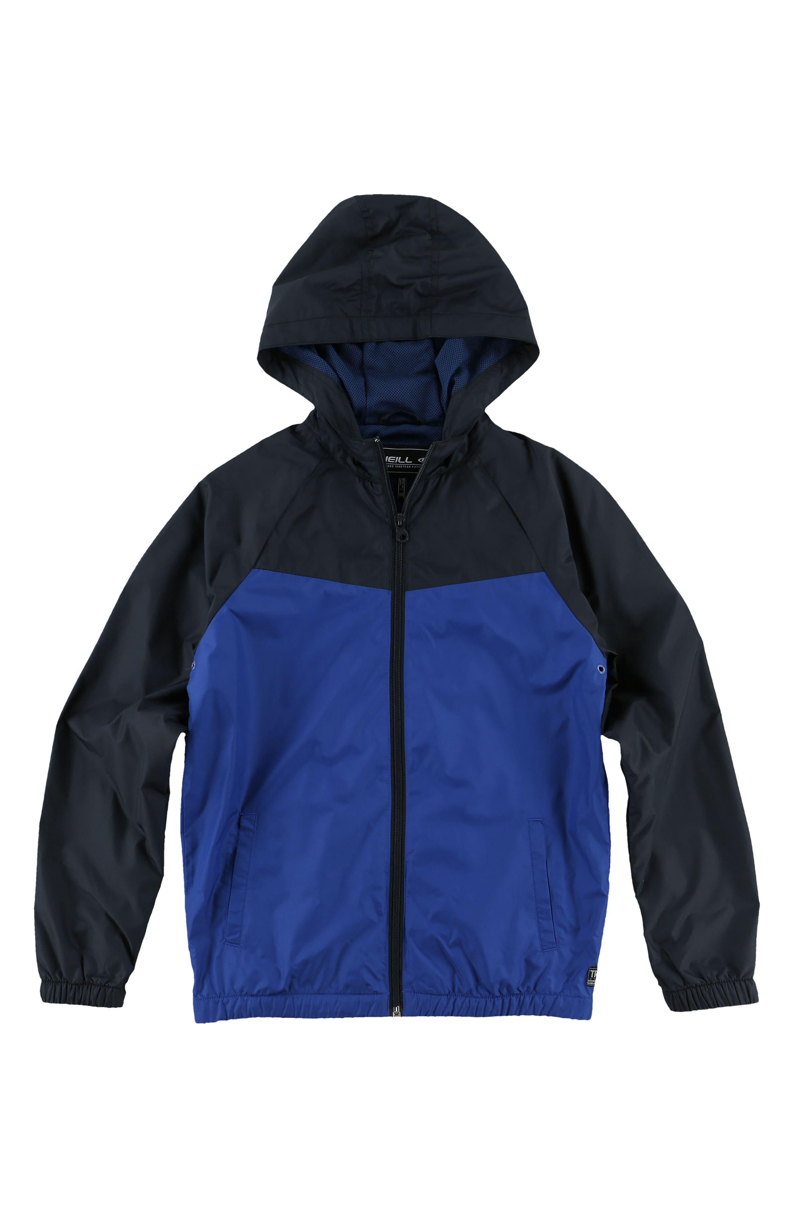 Alternate Image 1 Selected - O'Neill Traveler Packable Windbreaker Jacket (Big Boys)